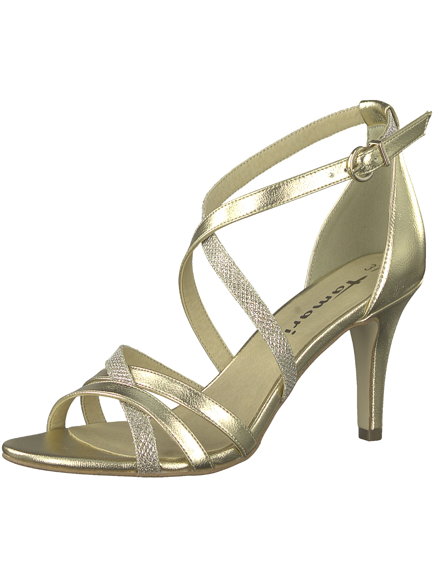 Páskové sandály zlatá TAMARIS