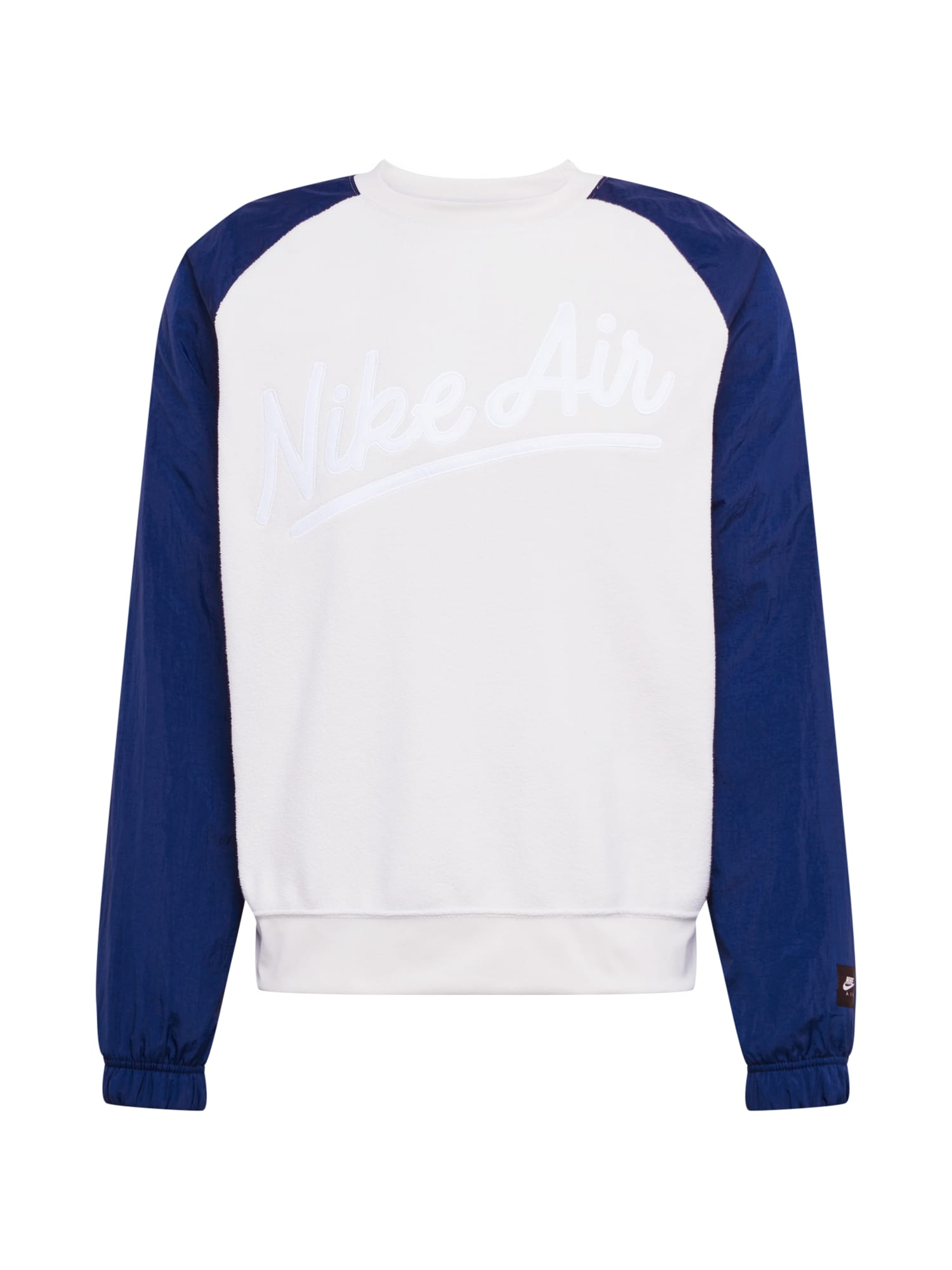 Nike Sportswear Mikina svetlosivá / zafírová