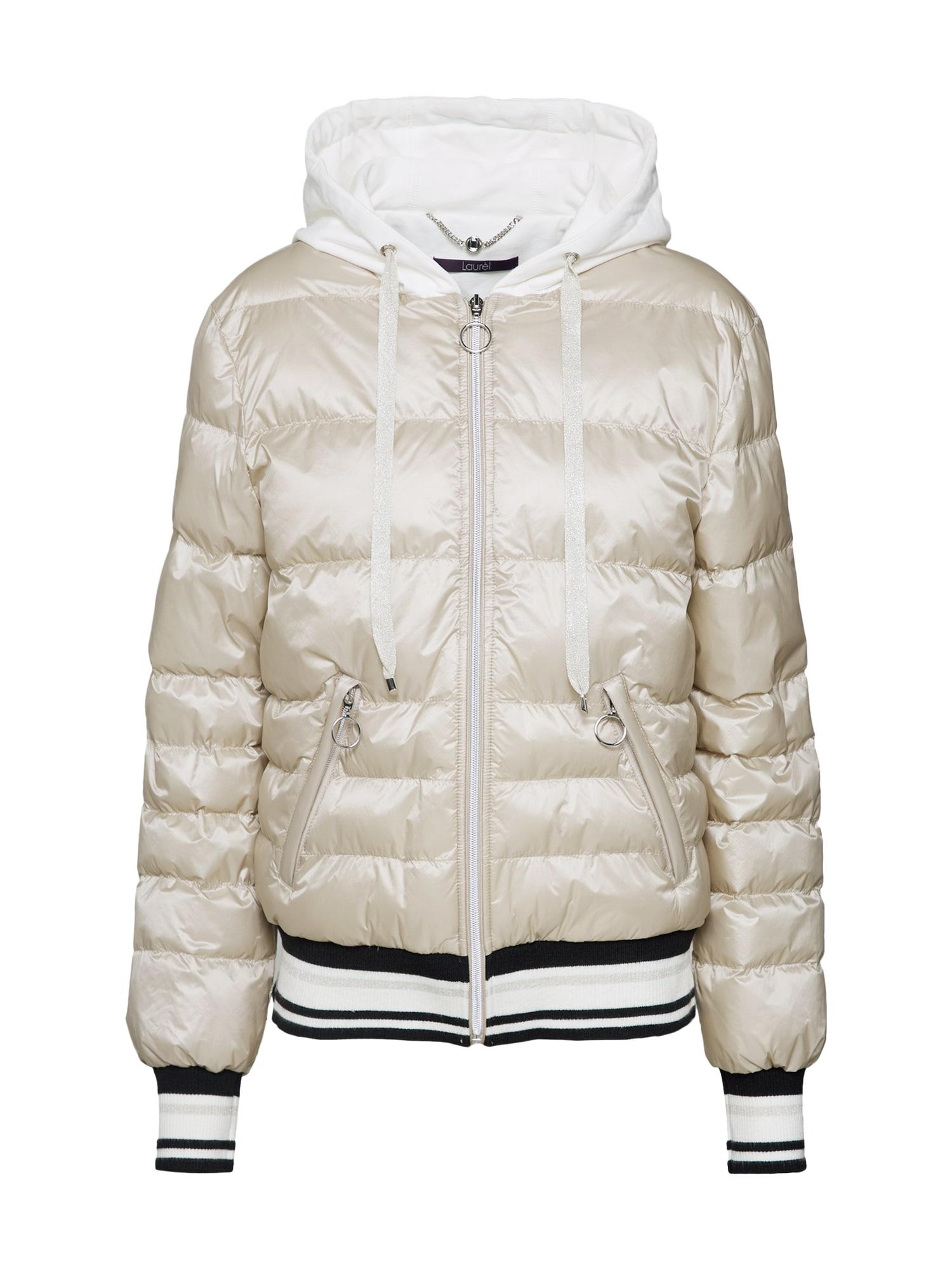 Zimní bunda 61001 béžová LAUREL