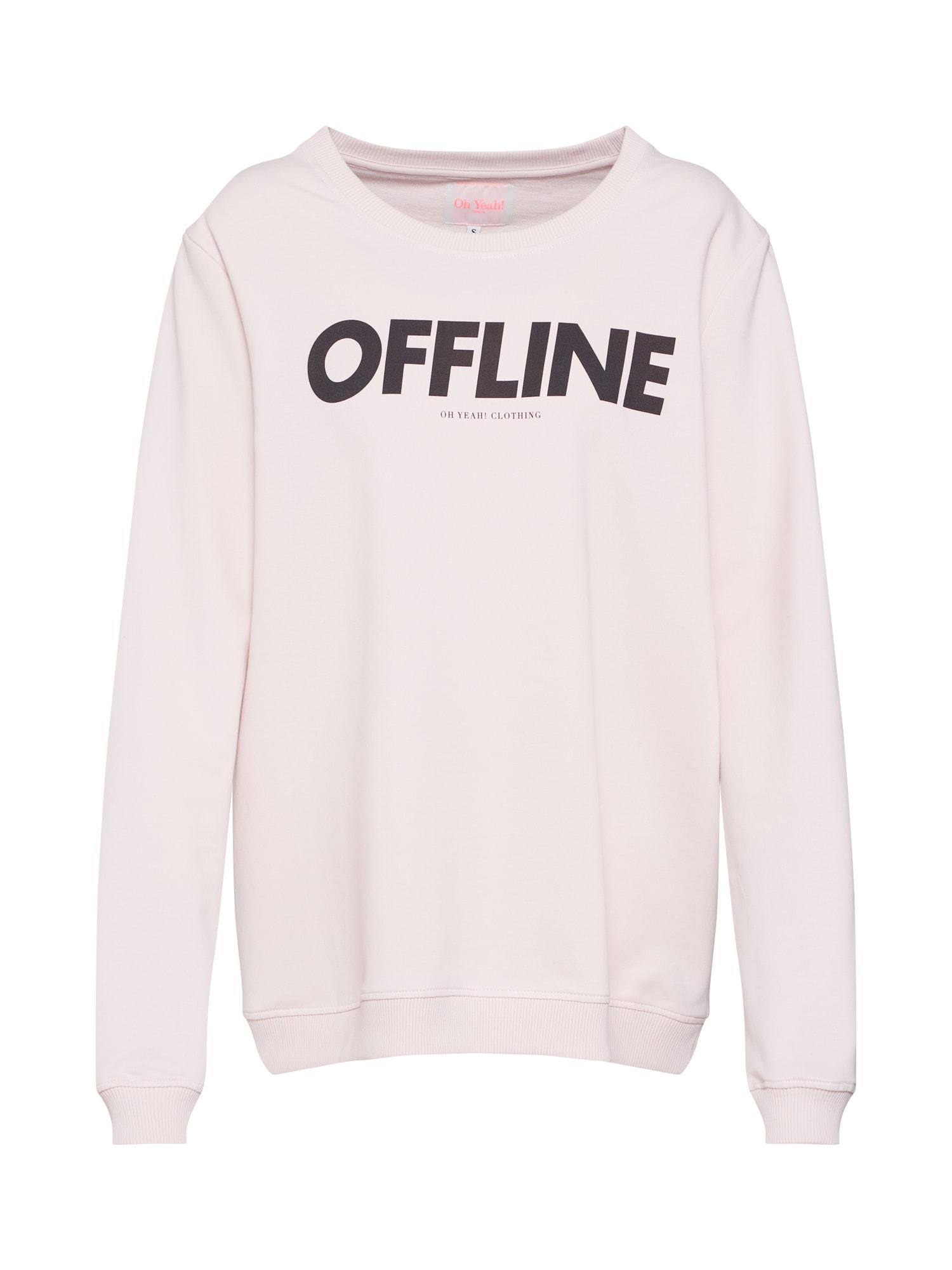 Mikina offline Rosé růžová Oh Yeah!
