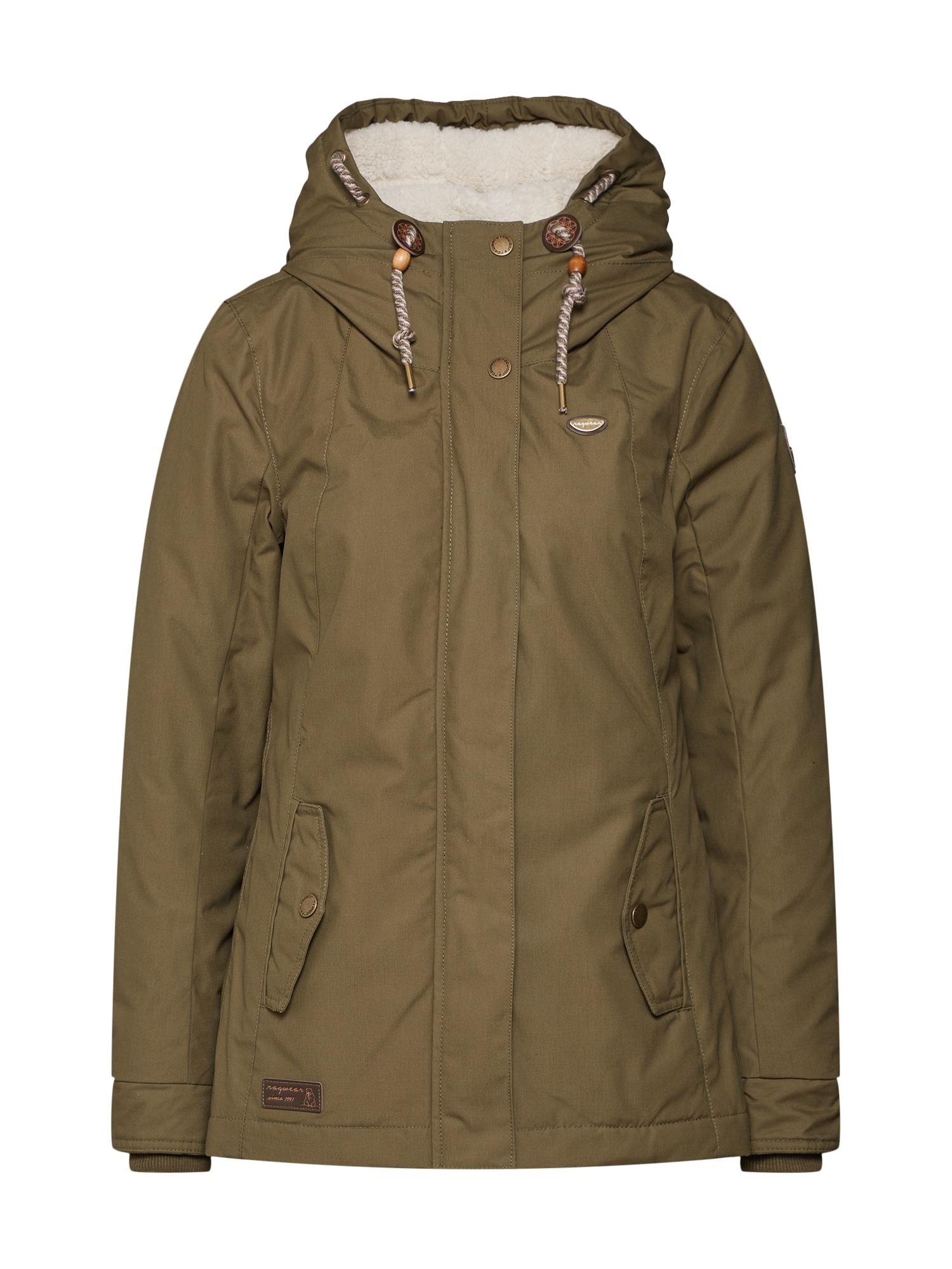 Přechodná bunda Monade olivová Ragwear