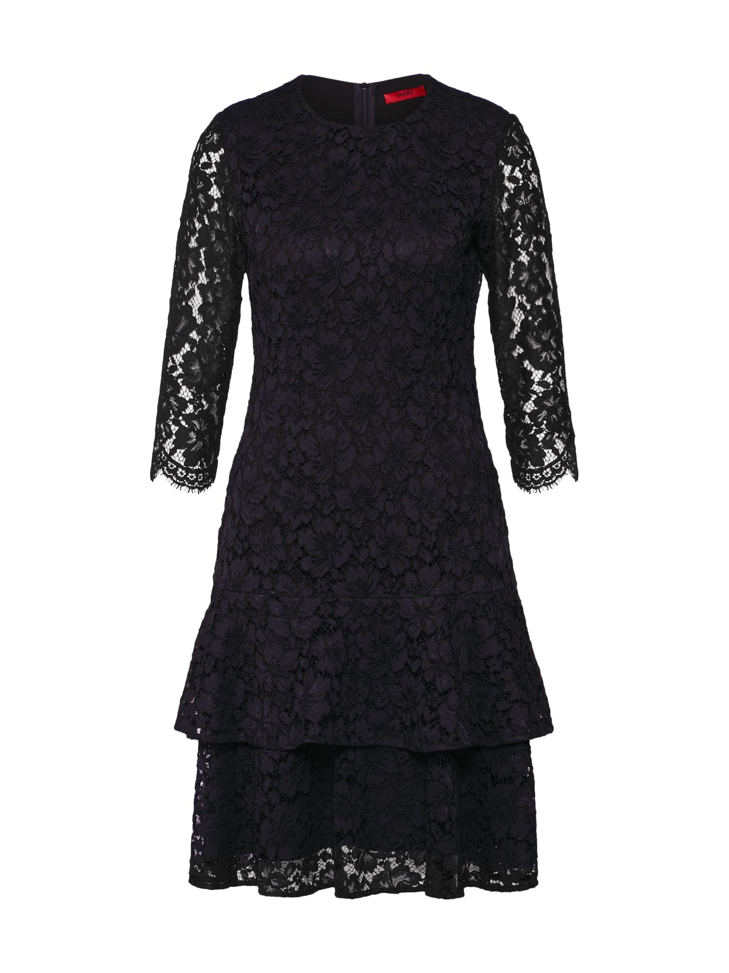 Šaty Kinelli-1 černá HUGO