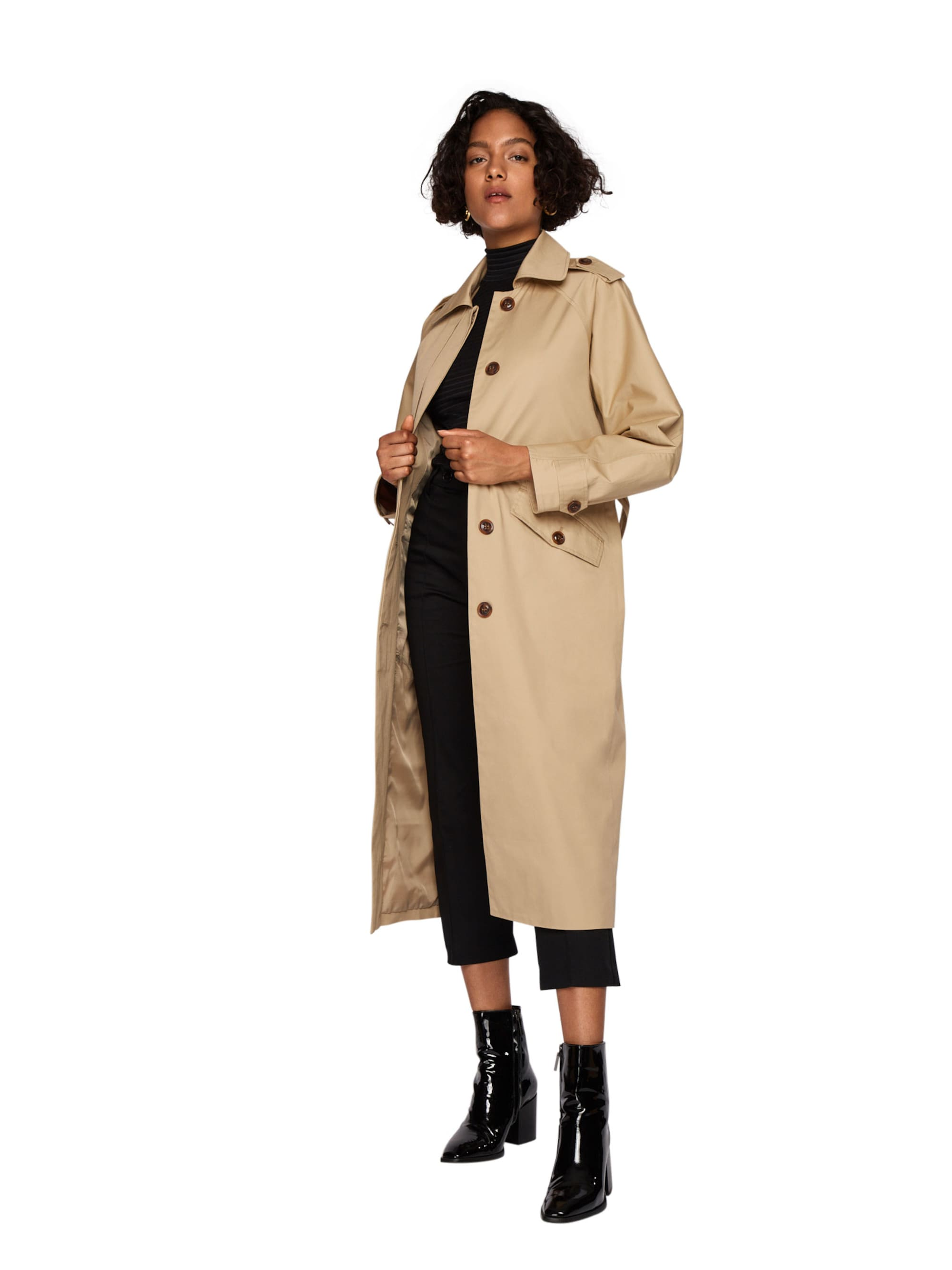 EDITED Płaszcz przejściowy 'Penelope'  jasny beż