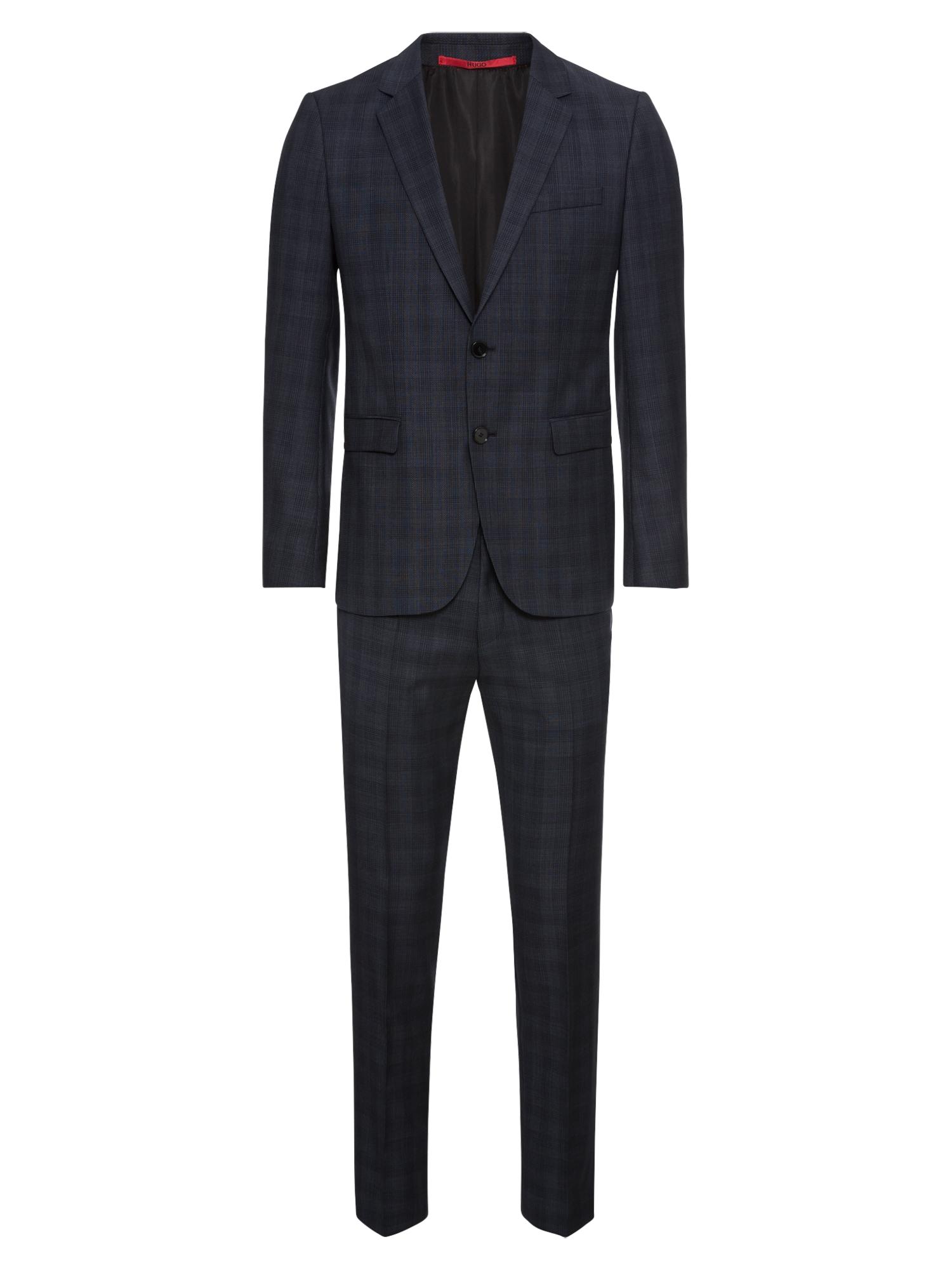Oblek antracitová HUGO