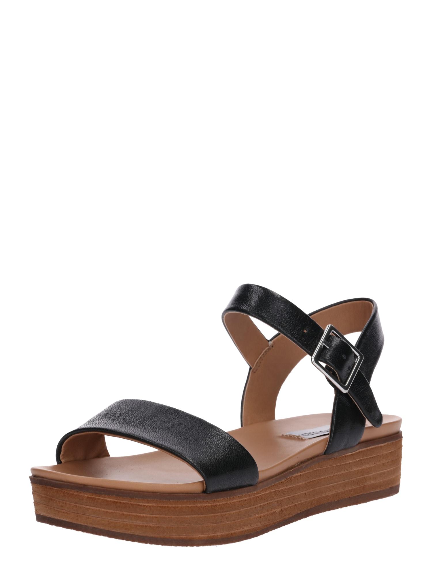 Páskové sandály AIDA černá STEVE MADDEN