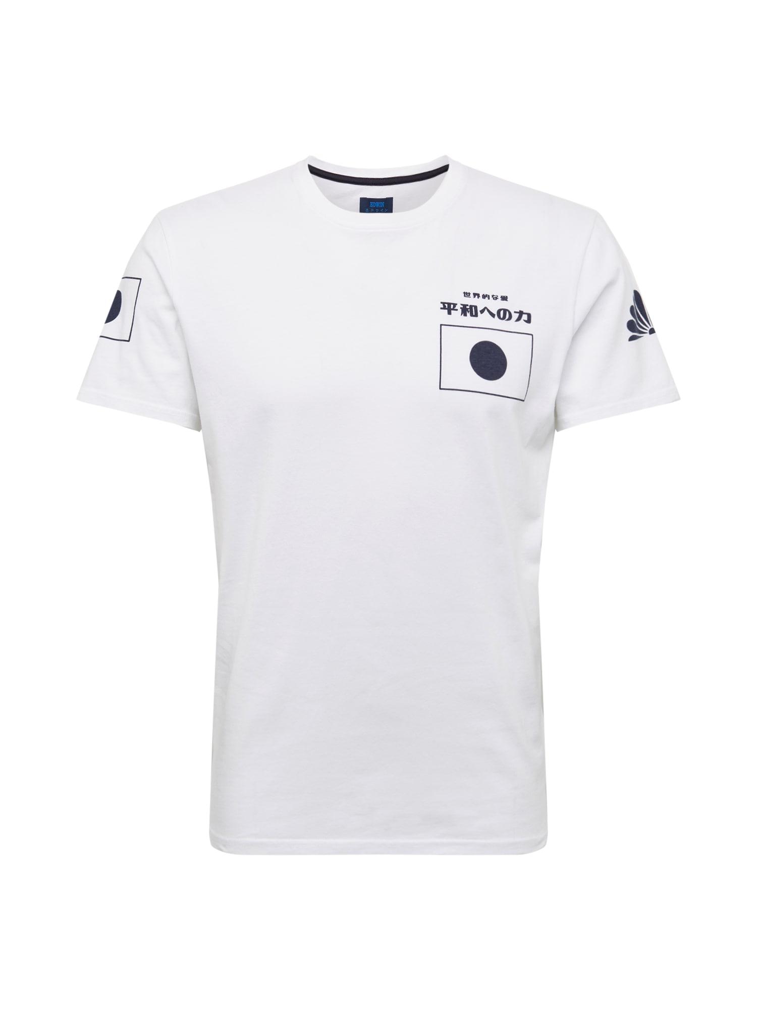 Tričko Dream TS černá bílá EDWIN