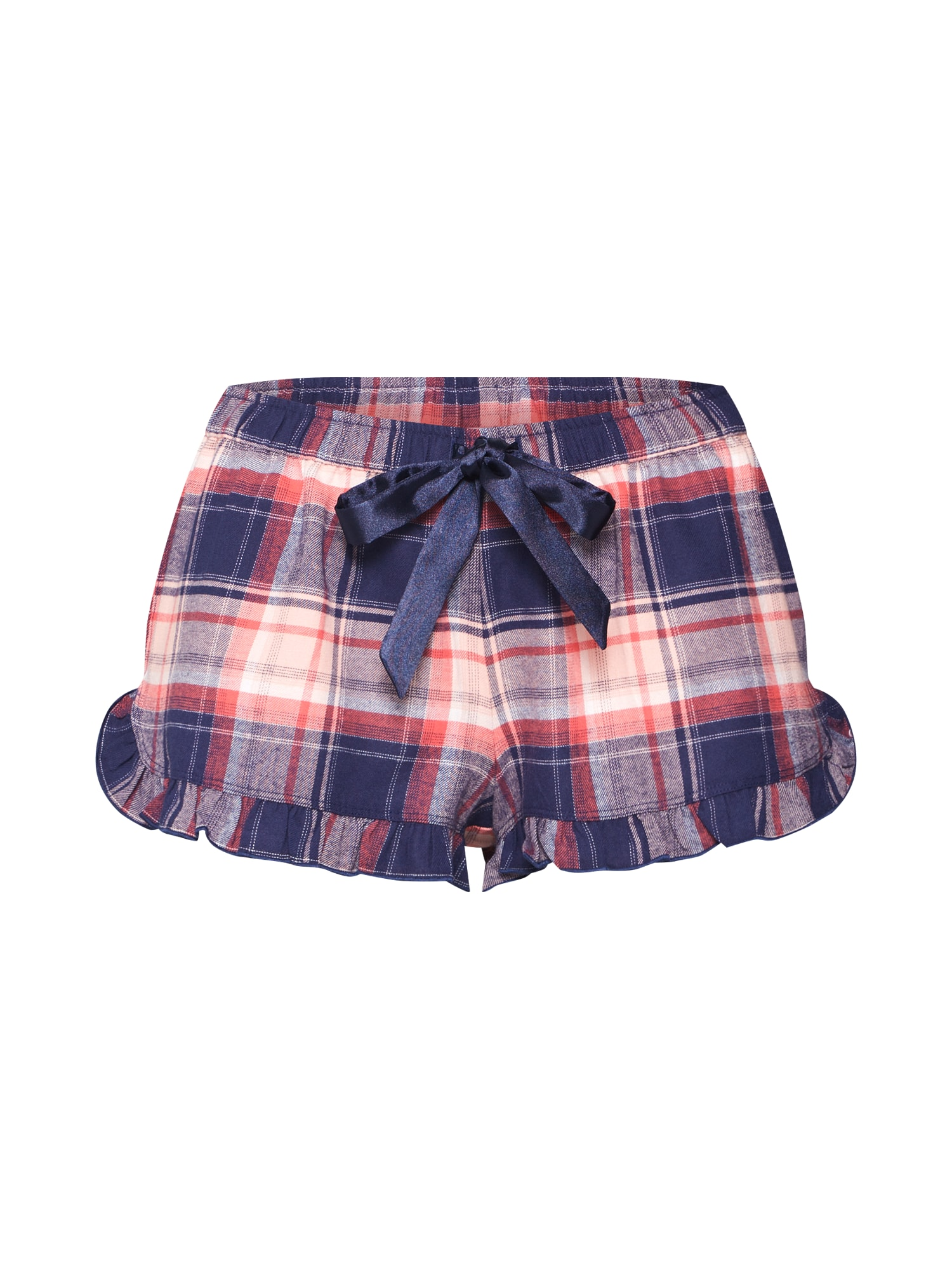 Pyžamové kalhoty modrá růžová červená Hunkemöller