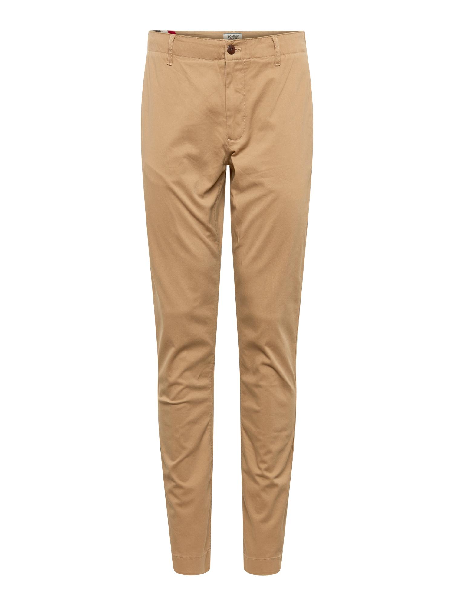 Chino kalhoty velbloudí Tommy Jeans