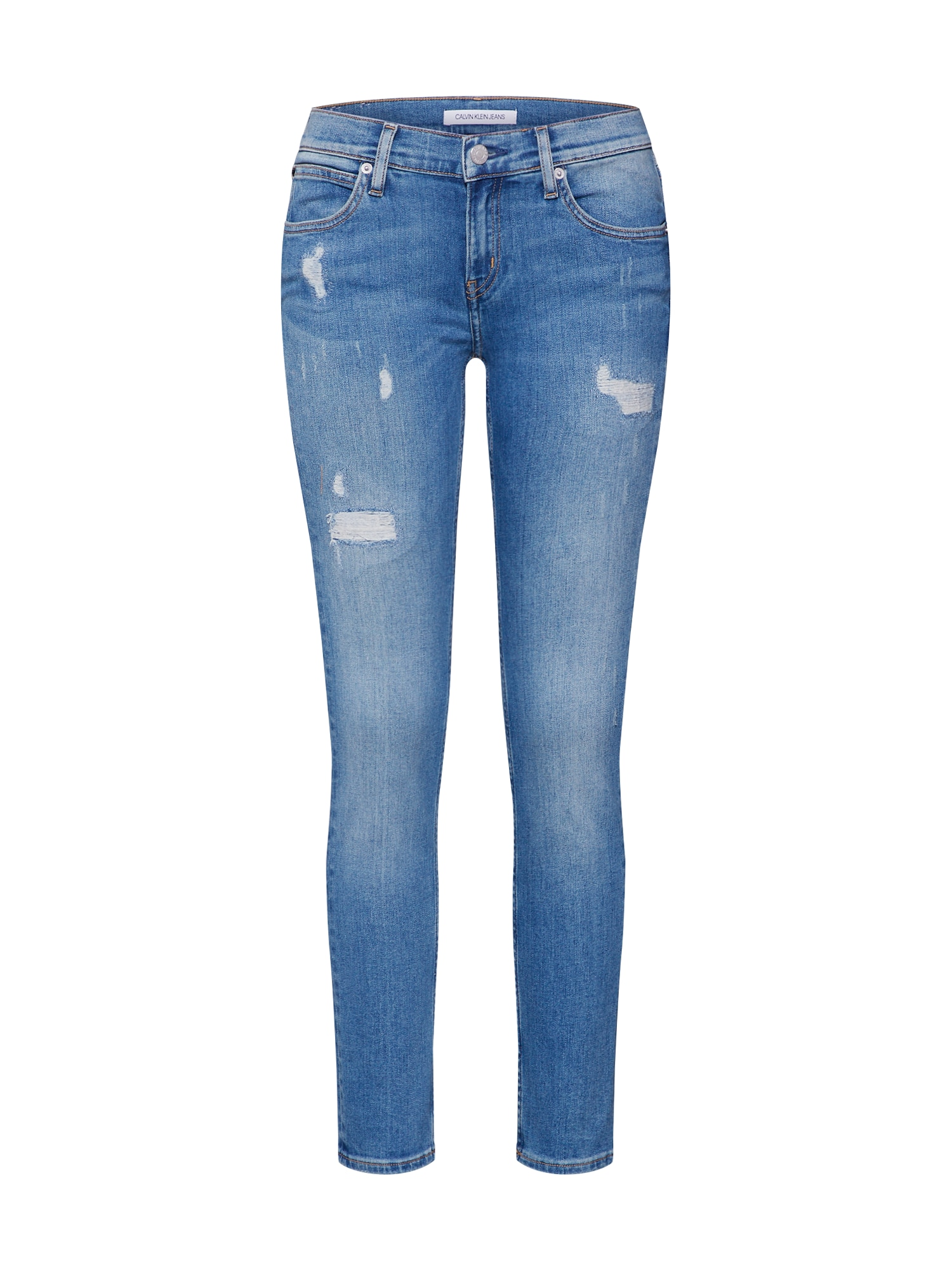 Džíny CKJ 022 BODY modrá džínovina Calvin Klein Jeans