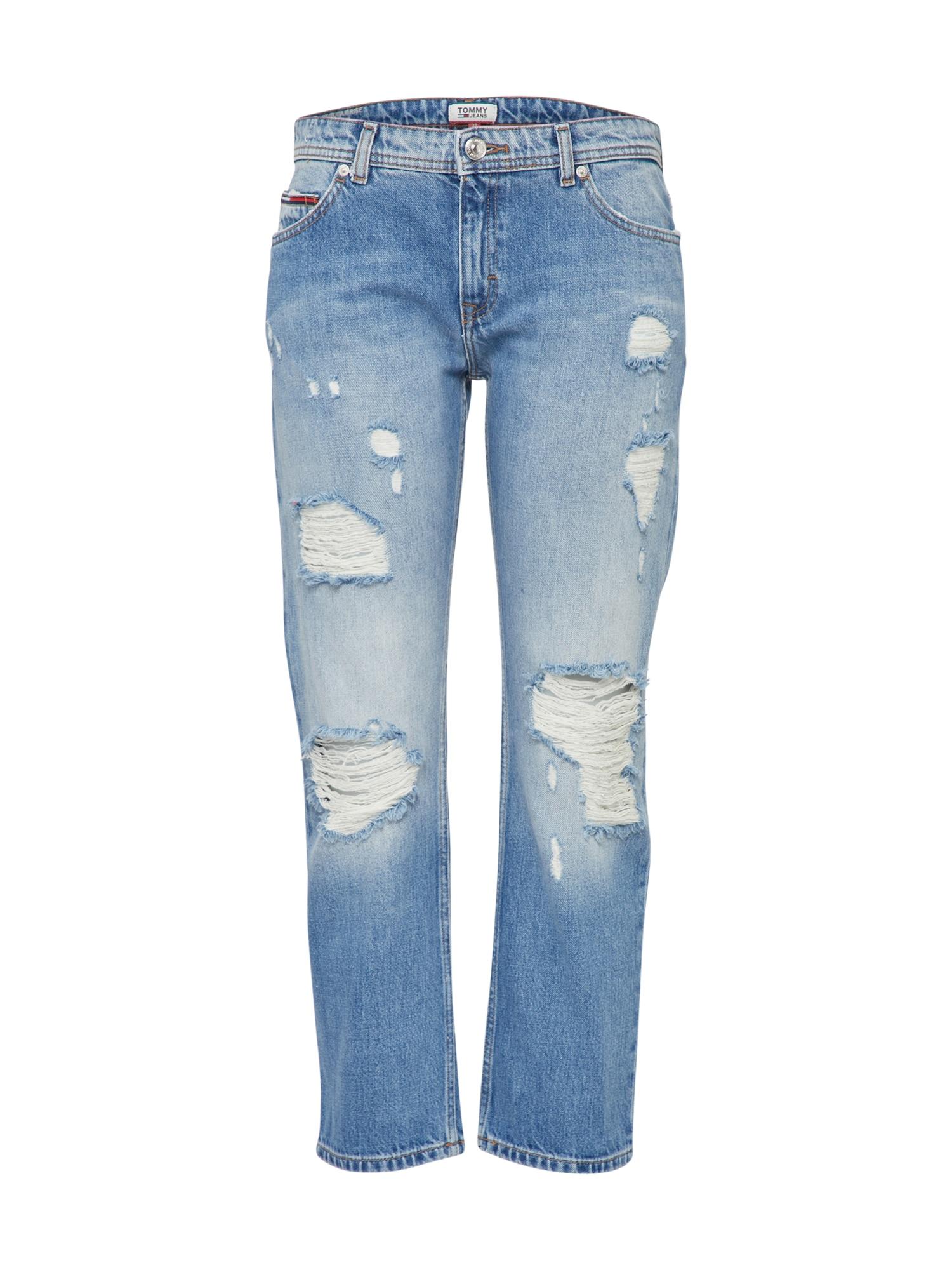 Džíny LANA modrá džínovina Tommy Jeans