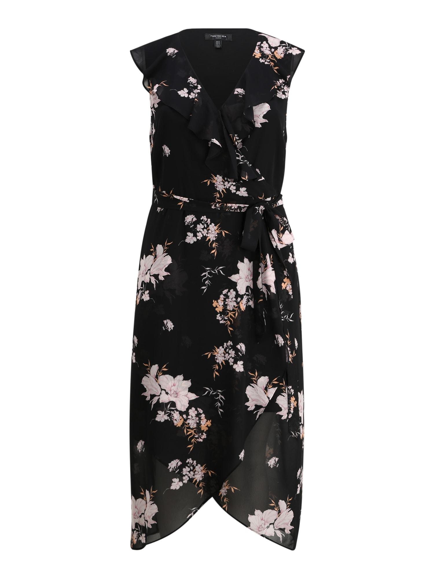 Forever New Šaty 'ELLA'  černá