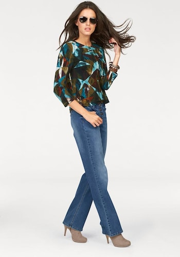 #ANISTON #Damen #Jeans #blau