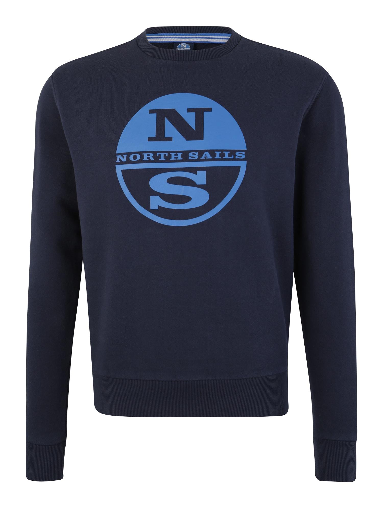 Sportovní mikina modrá tmavě modrá North Sails
