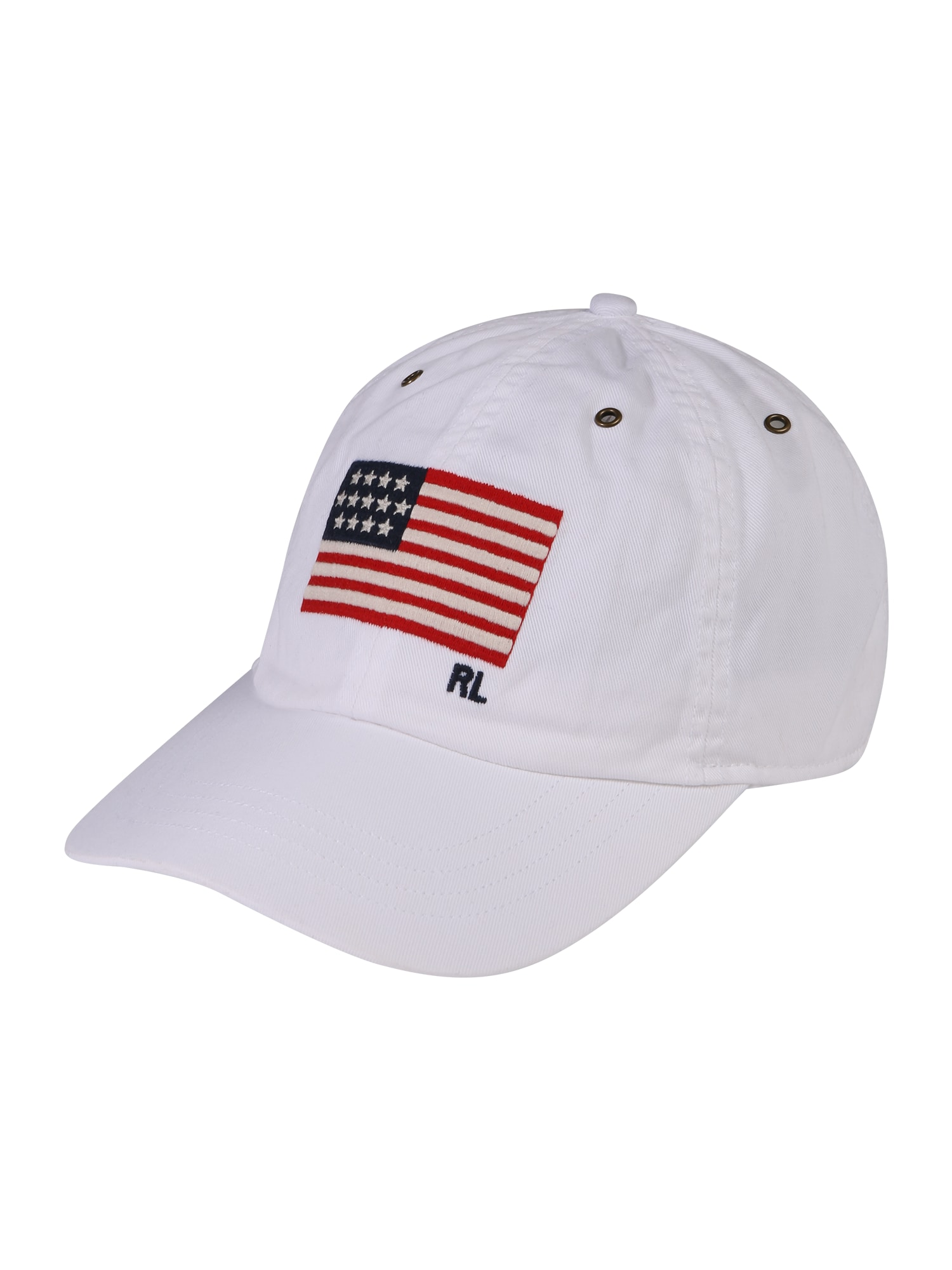 Kšiltovka COTTON CHINO TWILL-ICONIC CAP modrá červená bílá POLO RALPH LAUREN