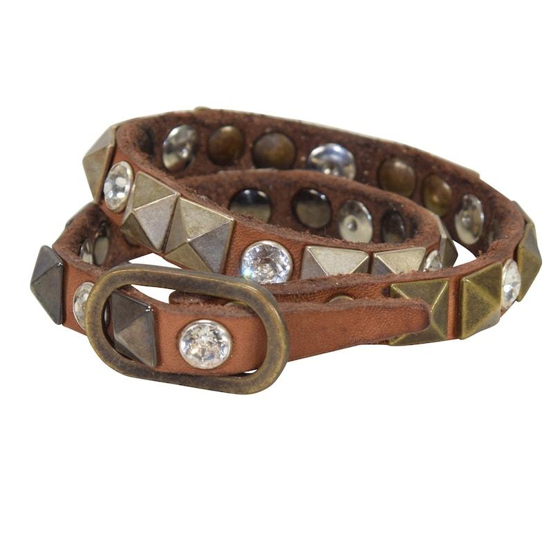 Campomaggi Campomaggi Santorini Armband Leder 40 cm braun