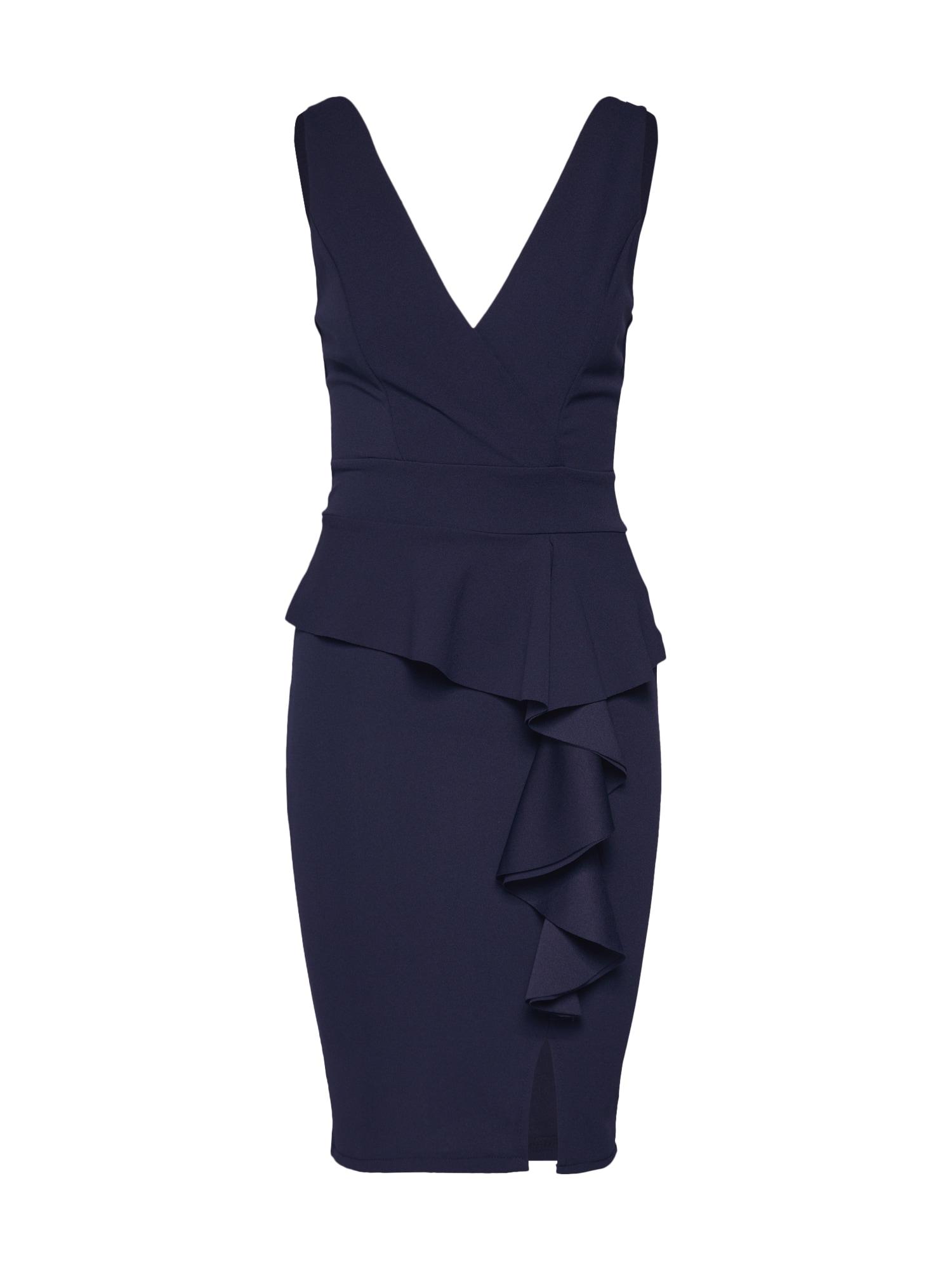 Pouzdrové šaty WG 8217 námořnická modř WAL G.