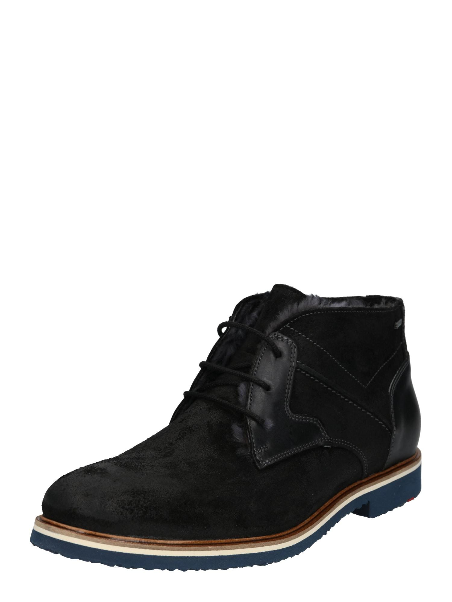 Šněrovací boty Veneto černá LLOYD