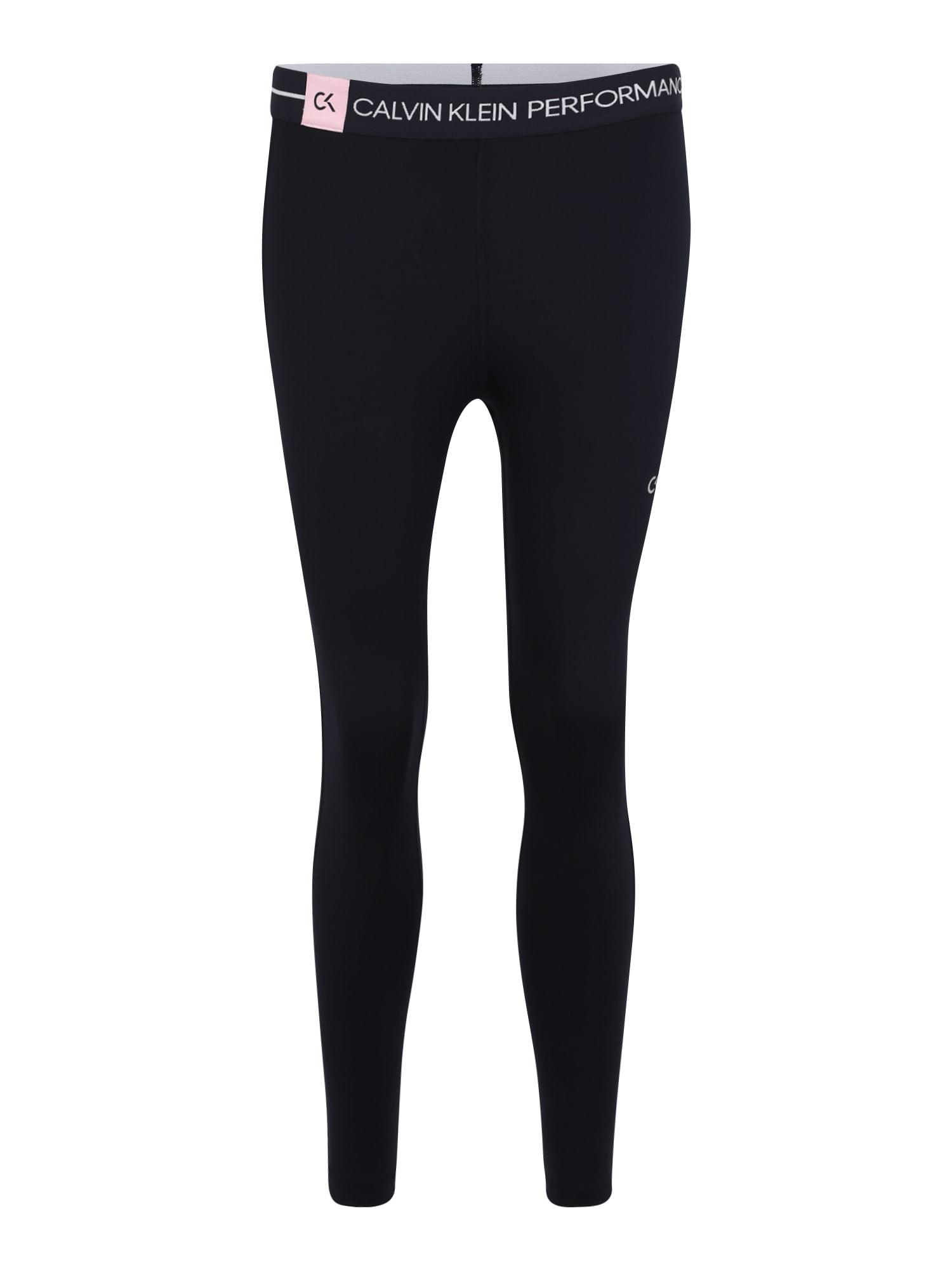 Sportovní kalhoty 78 TIGHT marine modrá Calvin Klein Performance