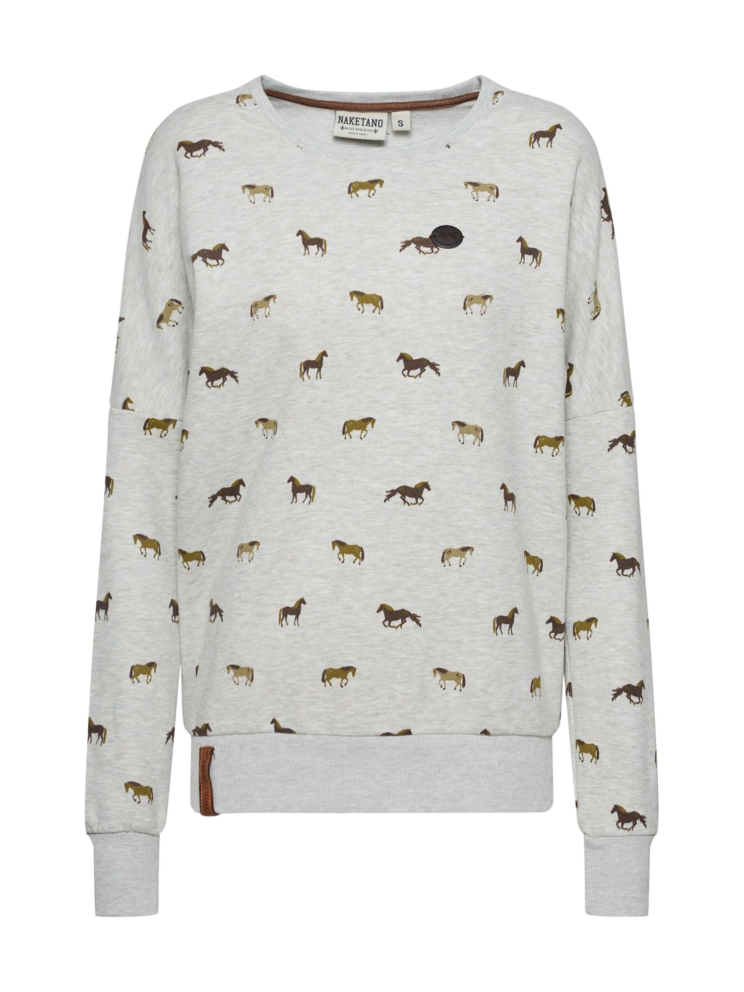 Sweatshirt 'Roulette - alles auf Schwan!'