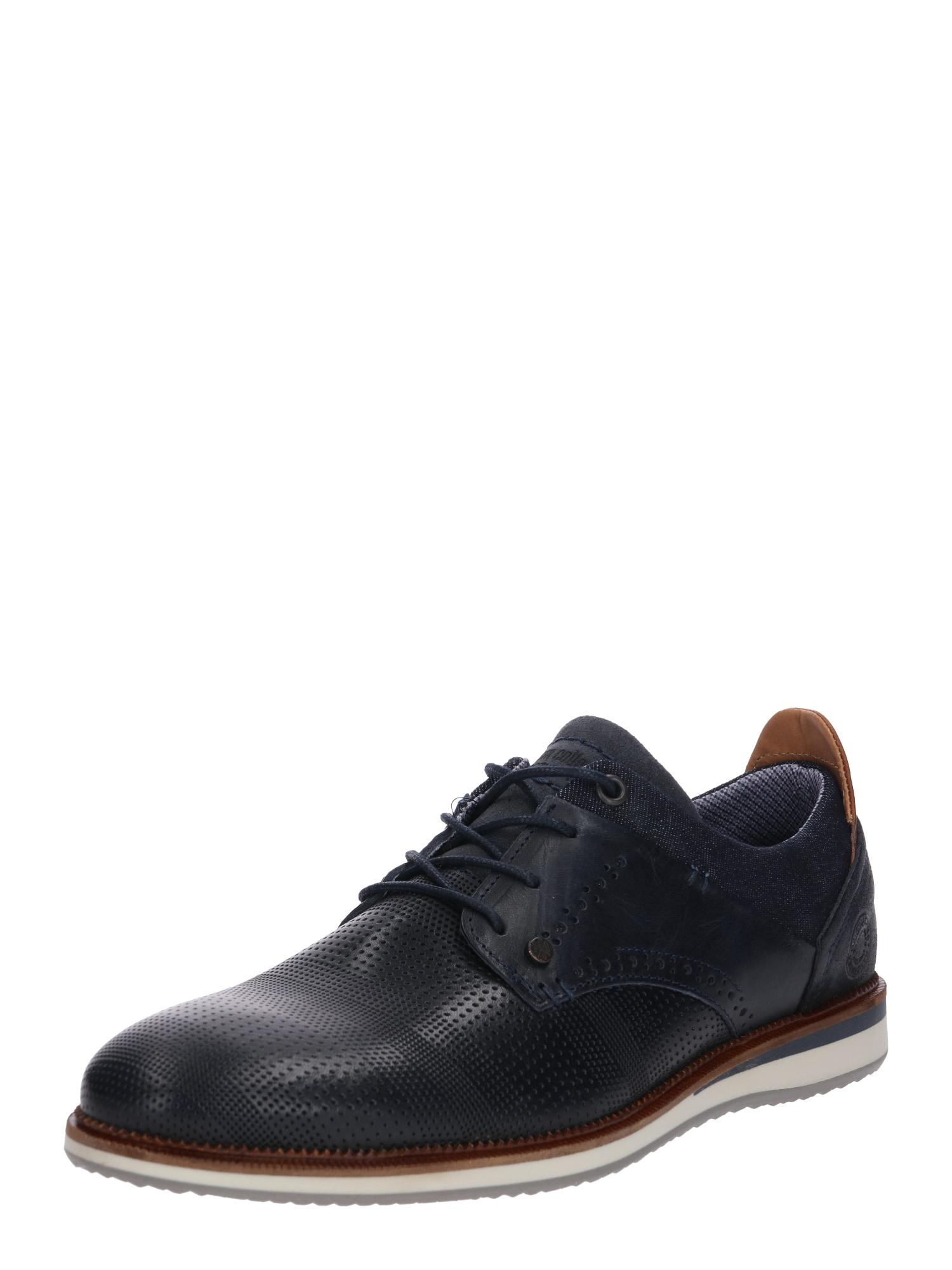 Šněrovací boty kobaltová modř BULLBOXER