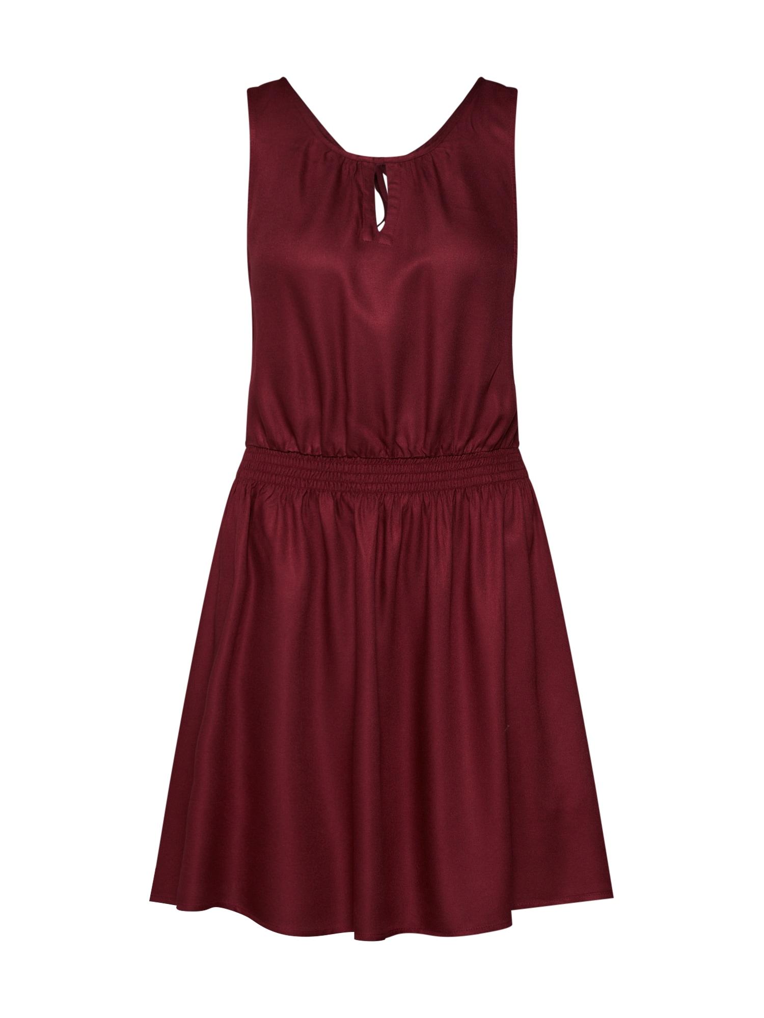 Šaty someone burgundská červeň ELEMENT