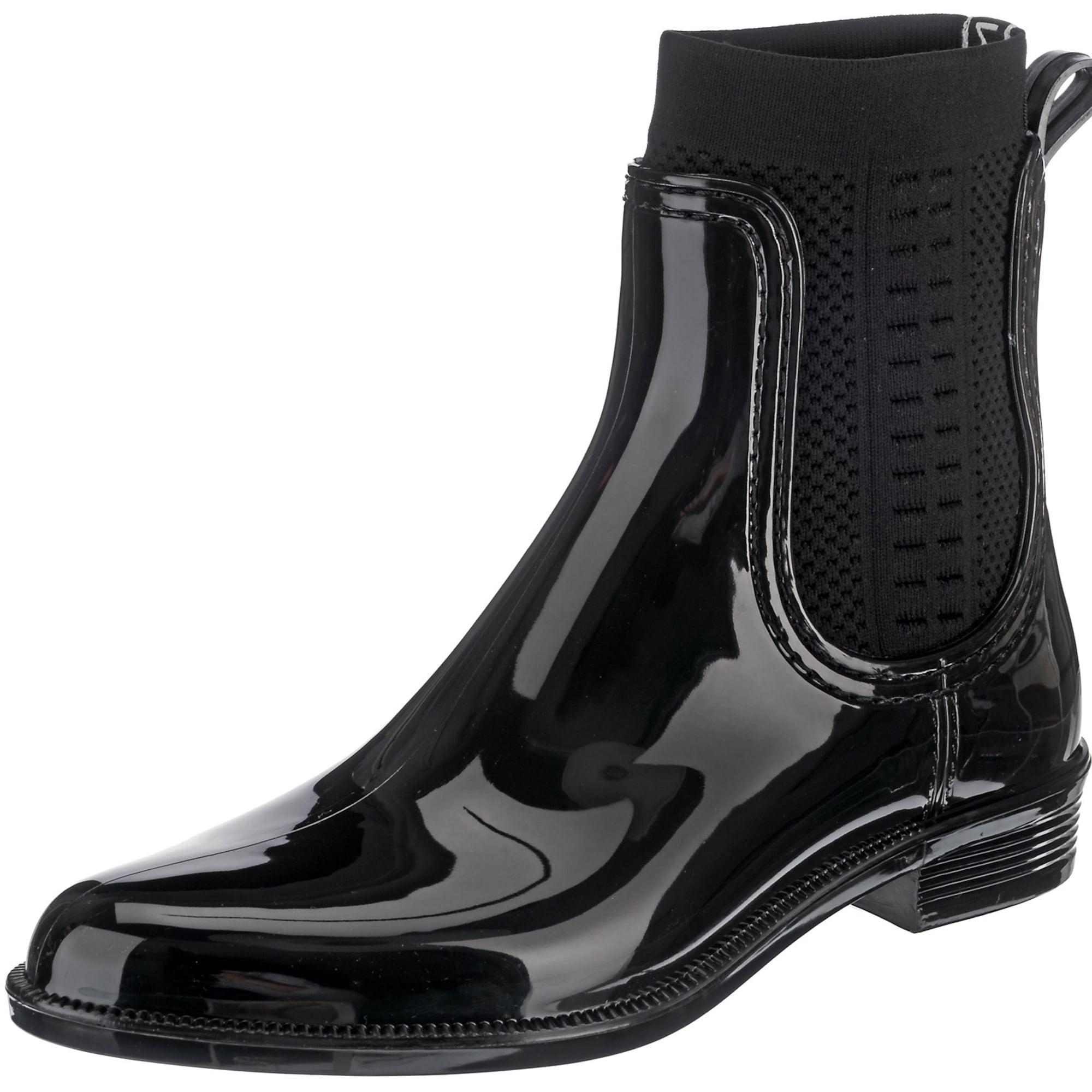 Holínky RAIN BOOT černá TOMMY HILFIGER
