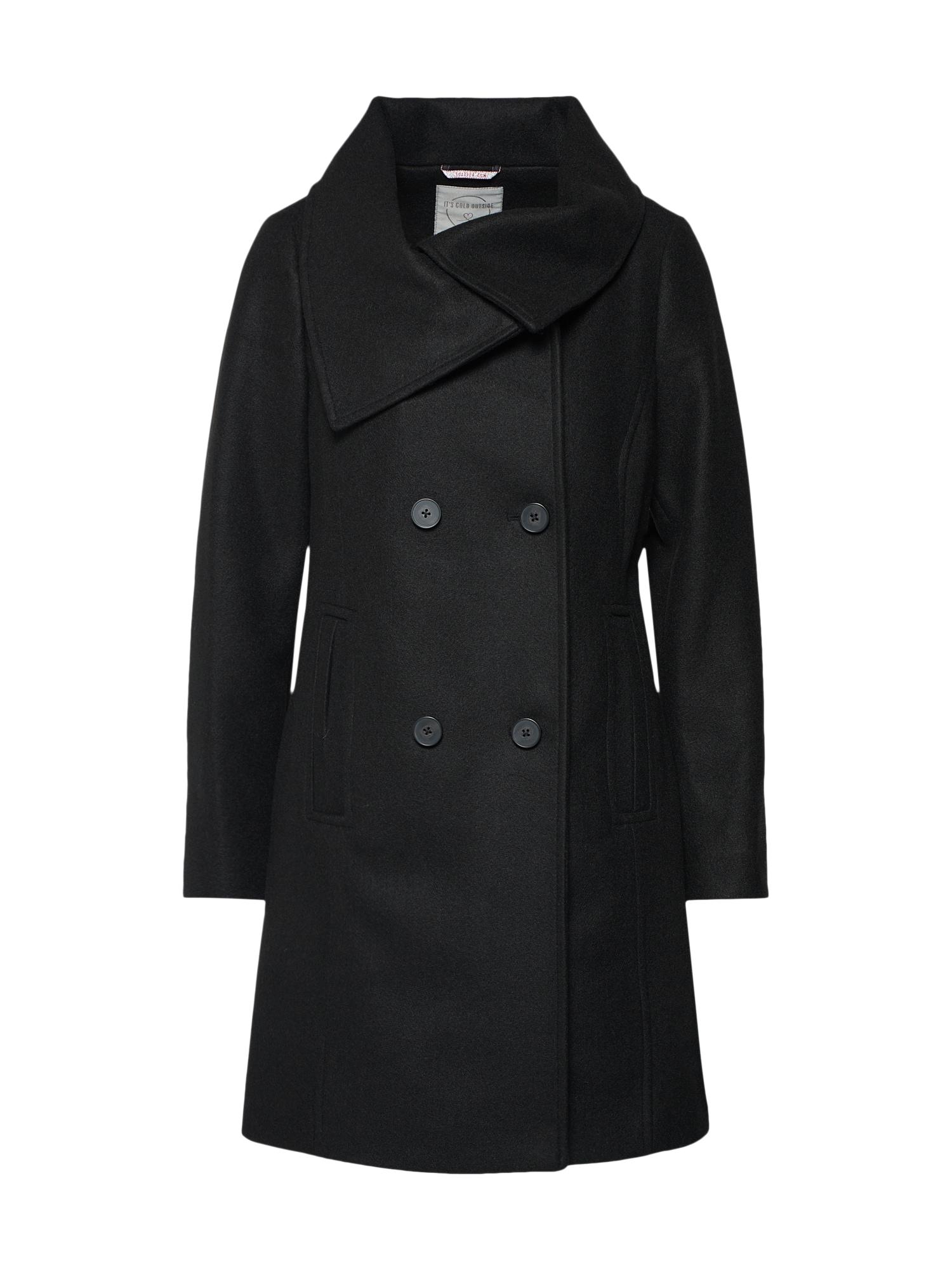 Zimní kabát černá S.Oliver RED LABEL