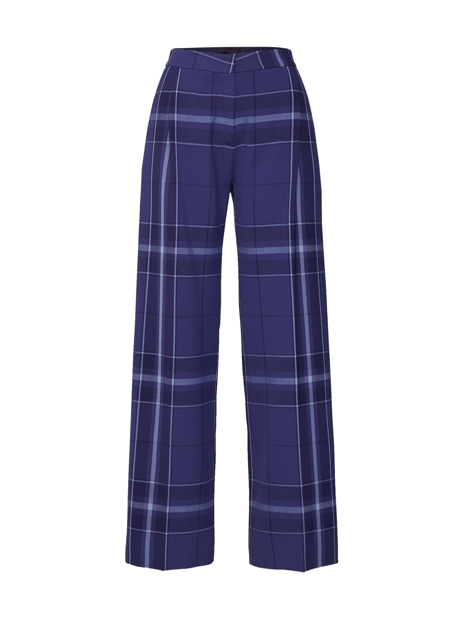 Kalhoty se sklady v pase Anya modrá 2ND DAY