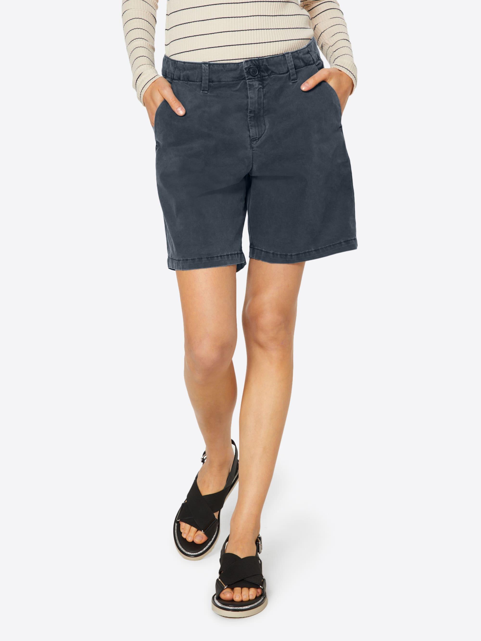 GAP Spodnie  ciemny niebieski