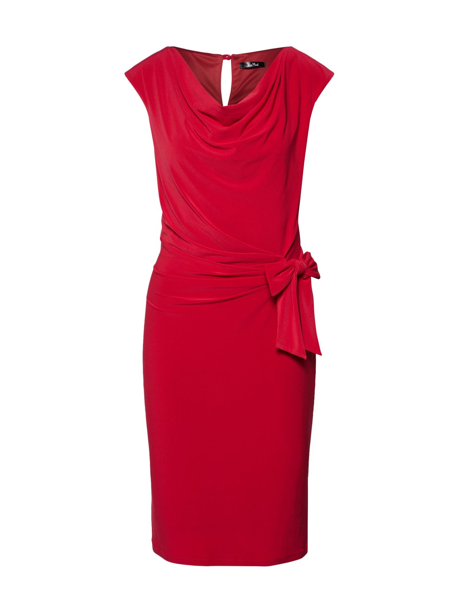 Pouzdrové šaty ohnivá červená Vera Mont