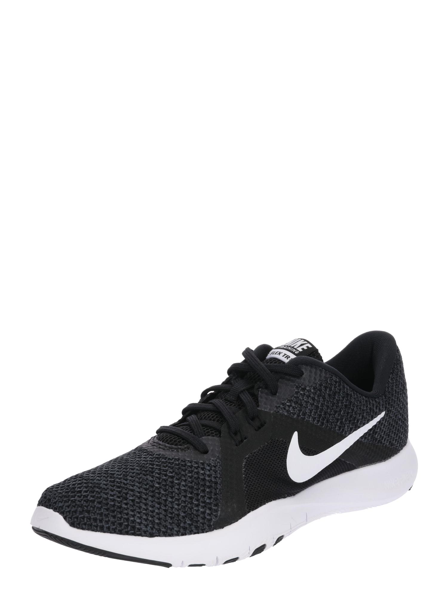 Sportovní boty Flex TR 8 antracitová černá bílá NIKE