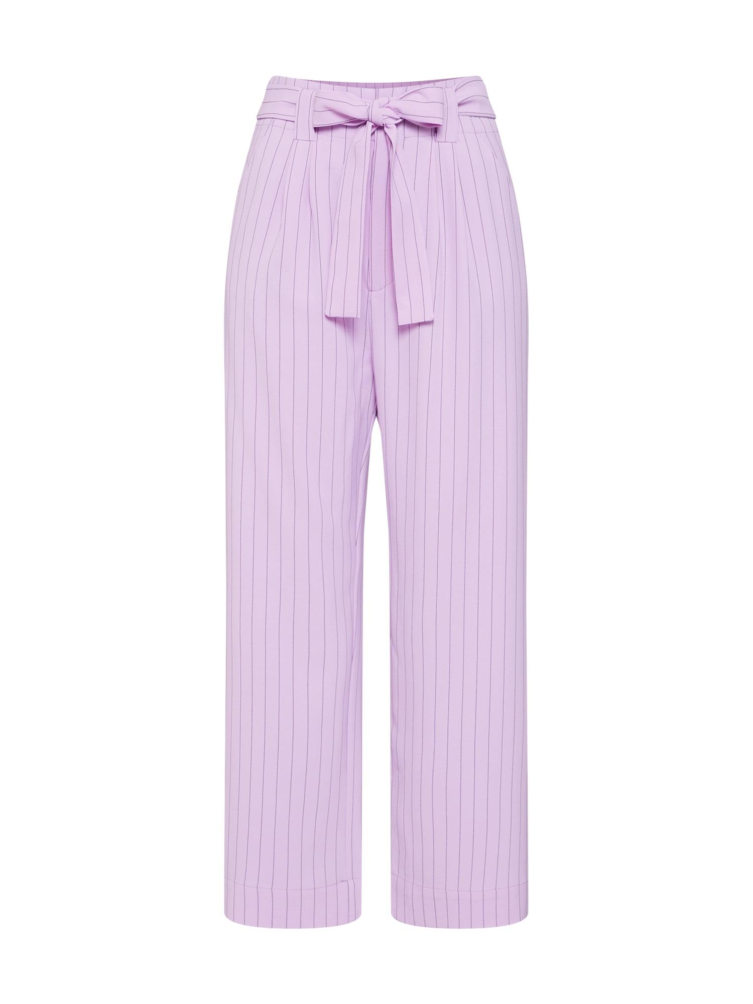 Kalhoty s puky Tara fialová Gestuz