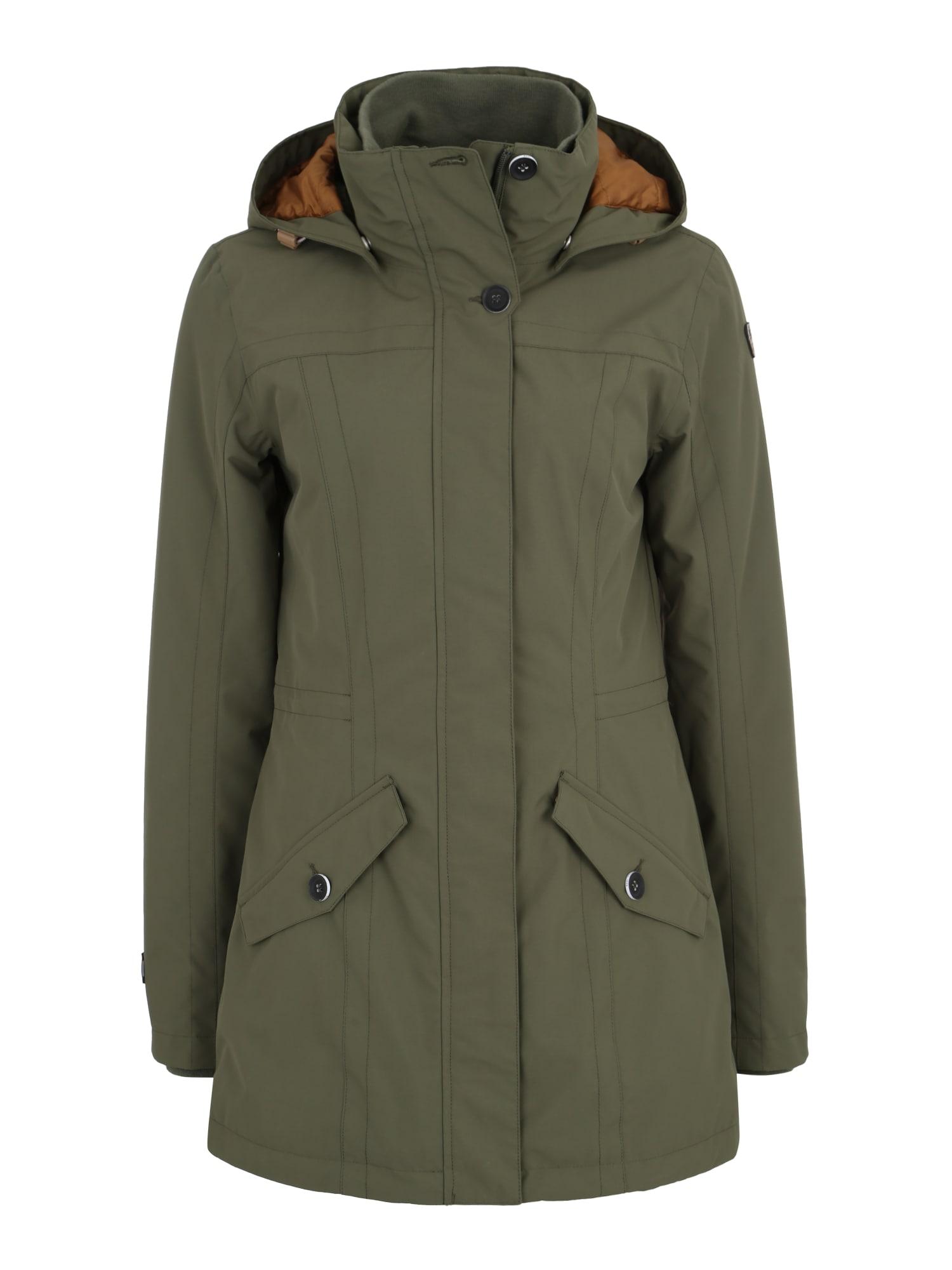 Outdoorová bunda TESS zelená ICEPEAK