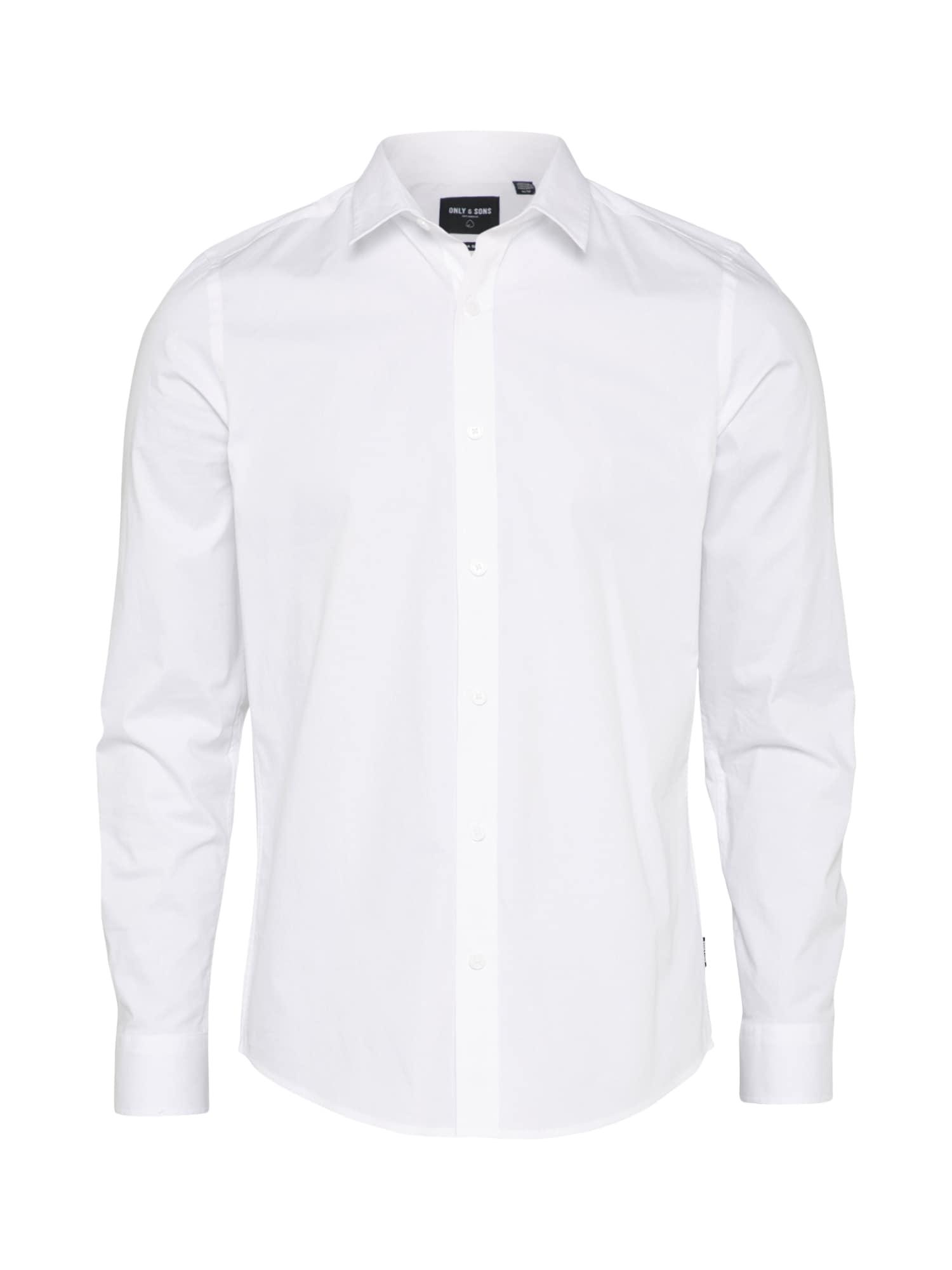 Košile ALFREDO bílá Only & Sons