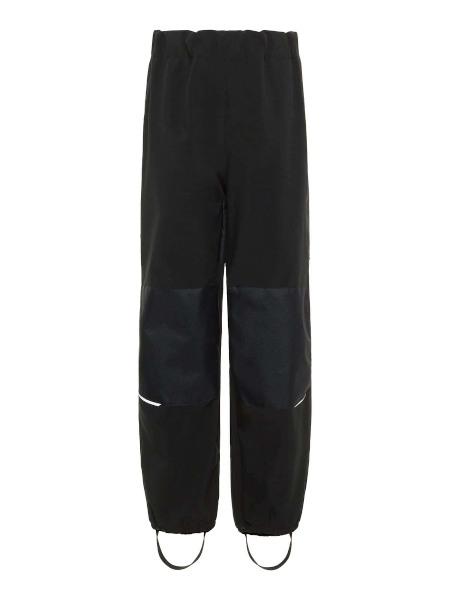 Funkční kalhoty Alfa černá NAME IT