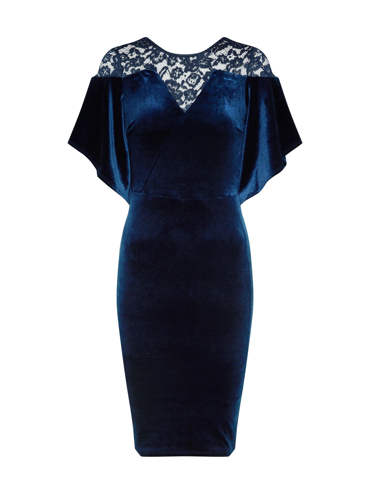 Koktejlové šaty ALIANA námořnická modř TFNC