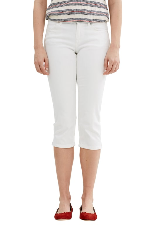 EDC BY ESPRIT Stretch-Jeans in Capri-Länge