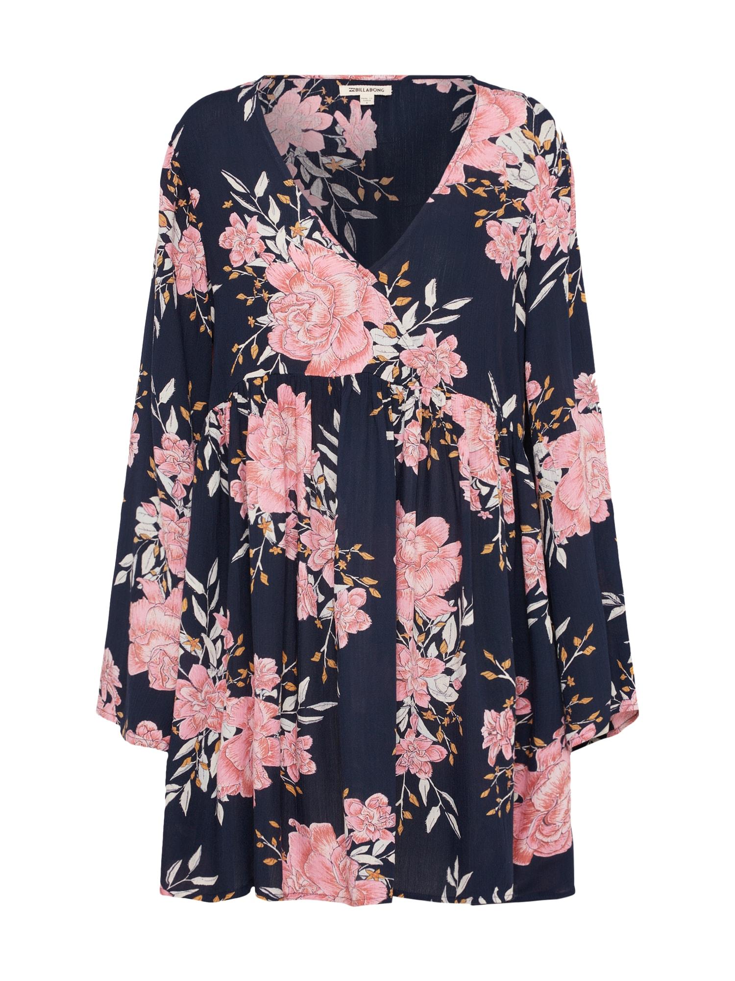 Šaty TAKE TODAY  námořnická modř  růžová BILLABONG