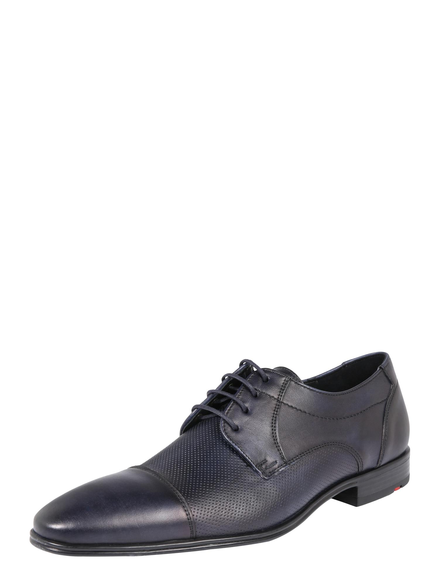 Šněrovací boty Oskar námořnická modř LLOYD