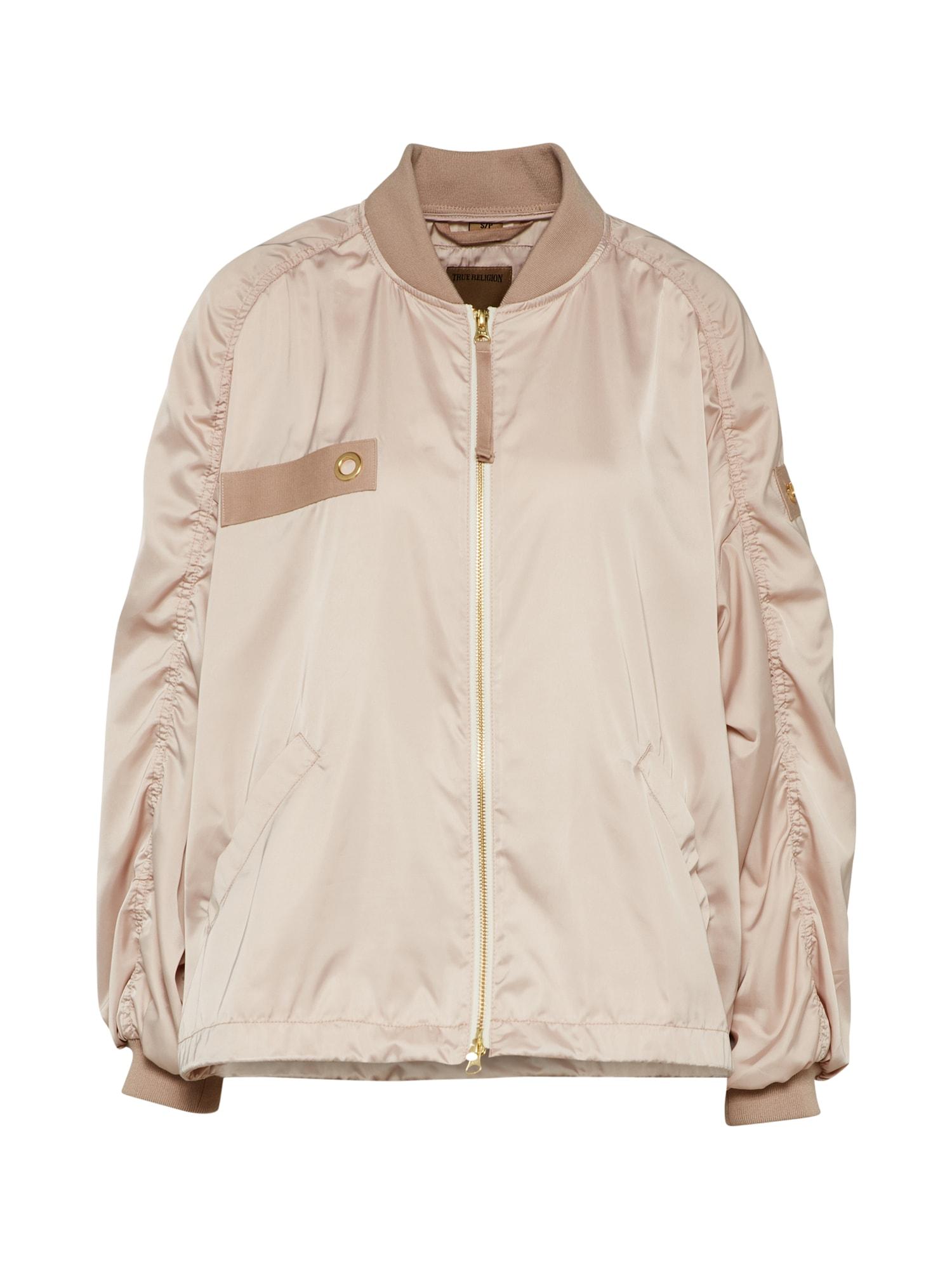 Přechodná bunda růžová True Religion