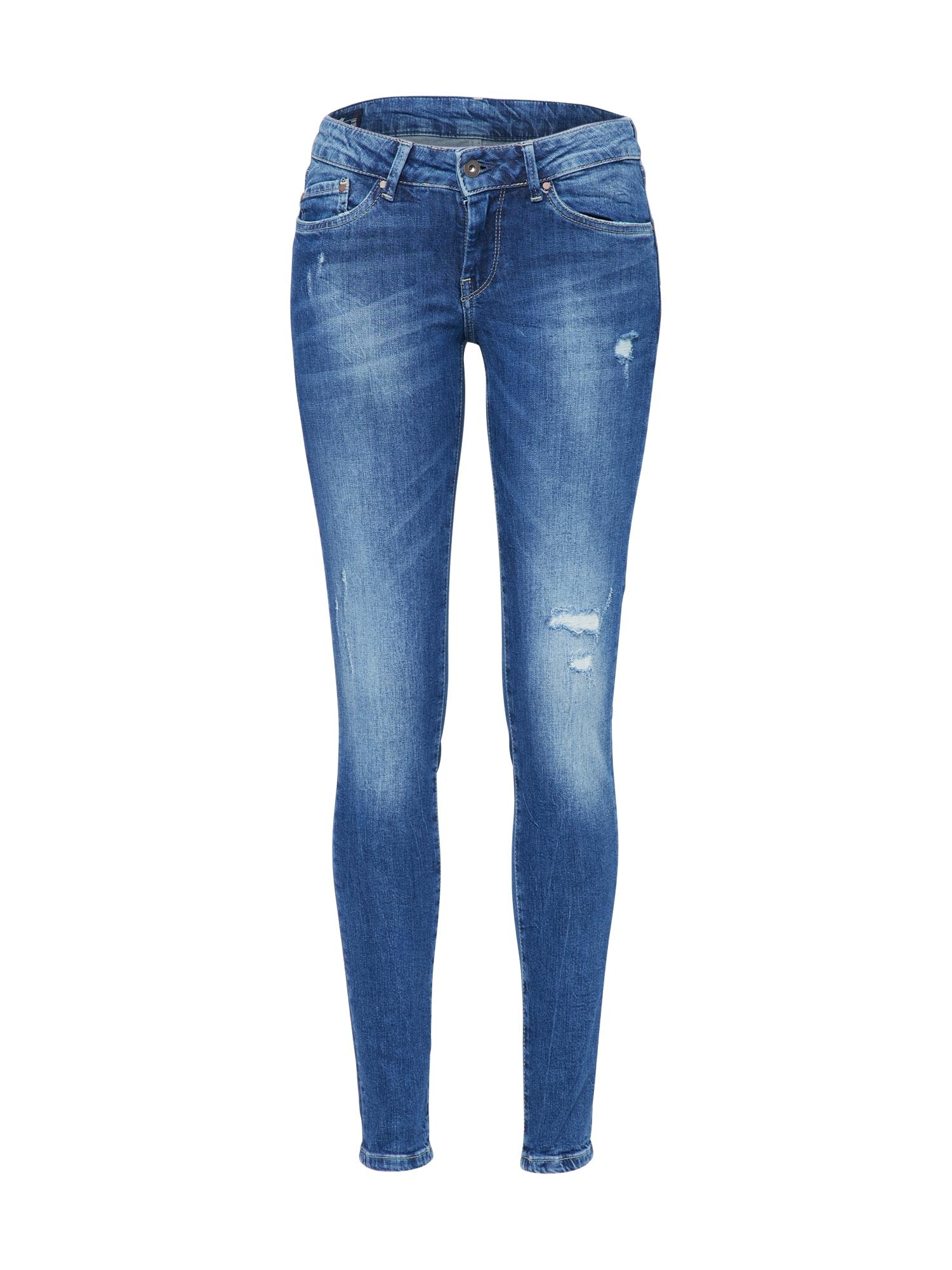 Pepe Jeans Dames Jeans Pixie blue denim