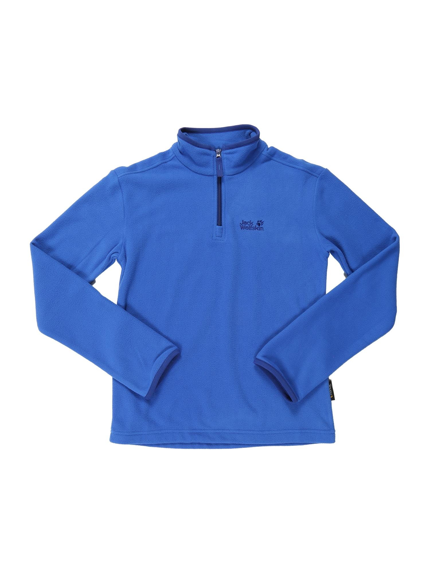 Funkční flísová bunda GECKO královská modrá JACK WOLFSKIN