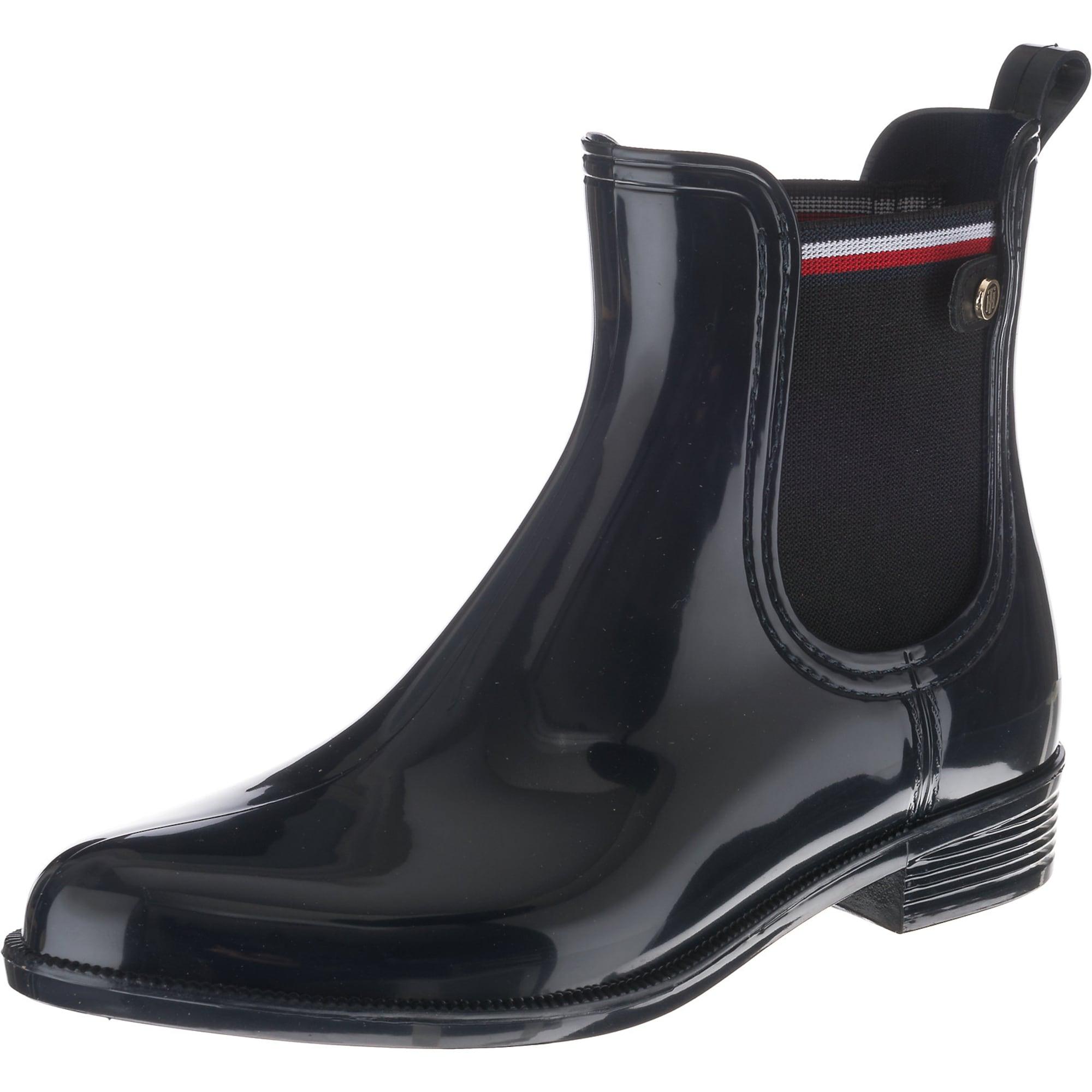 Gummistiefel 'Odette'   Schuhe > Gummistiefel   Rot - Weiß   Tommy Hilfiger