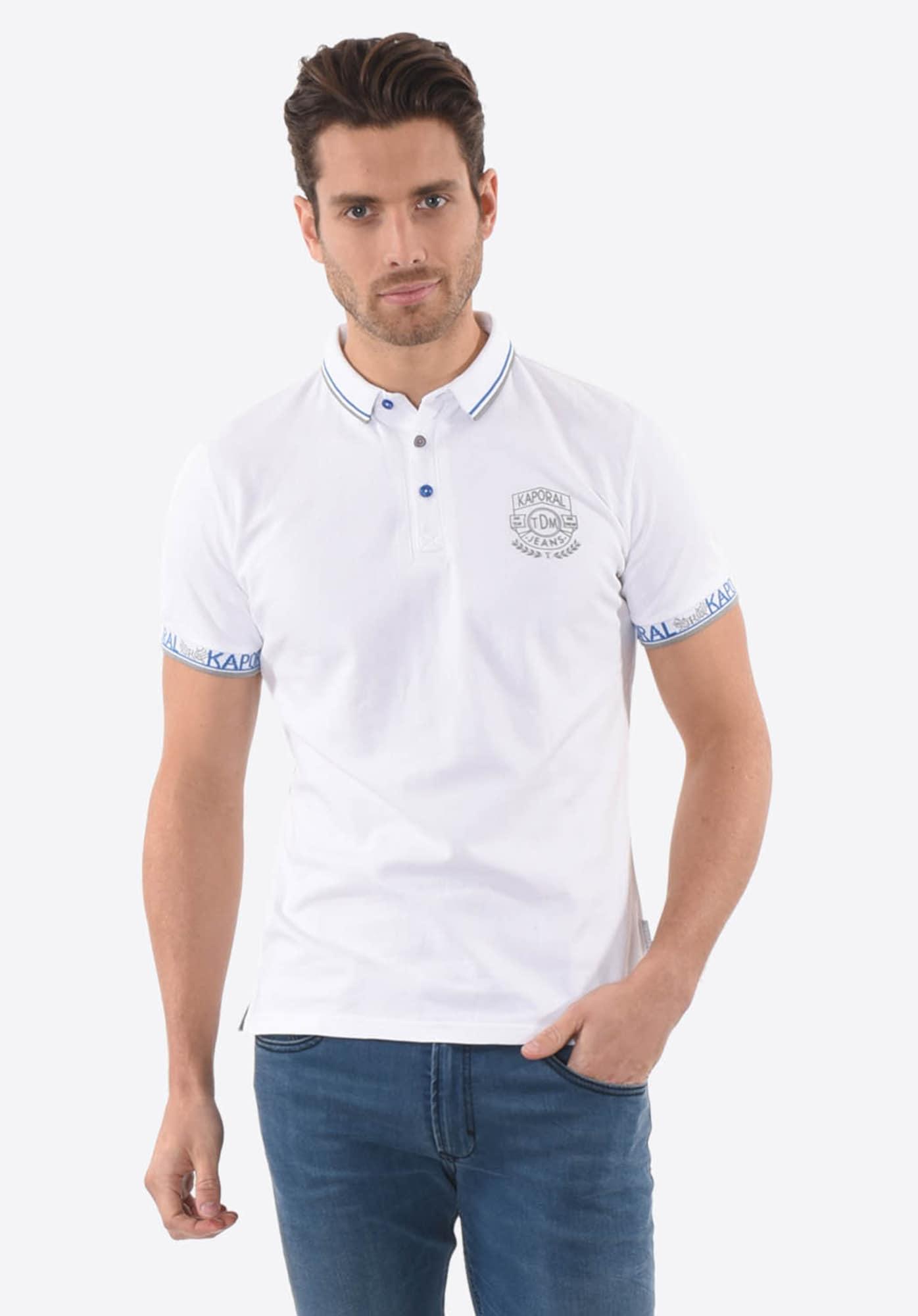 Poloshirt 'Saiko White'   Bekleidung > Polo Shirts   Kaporal