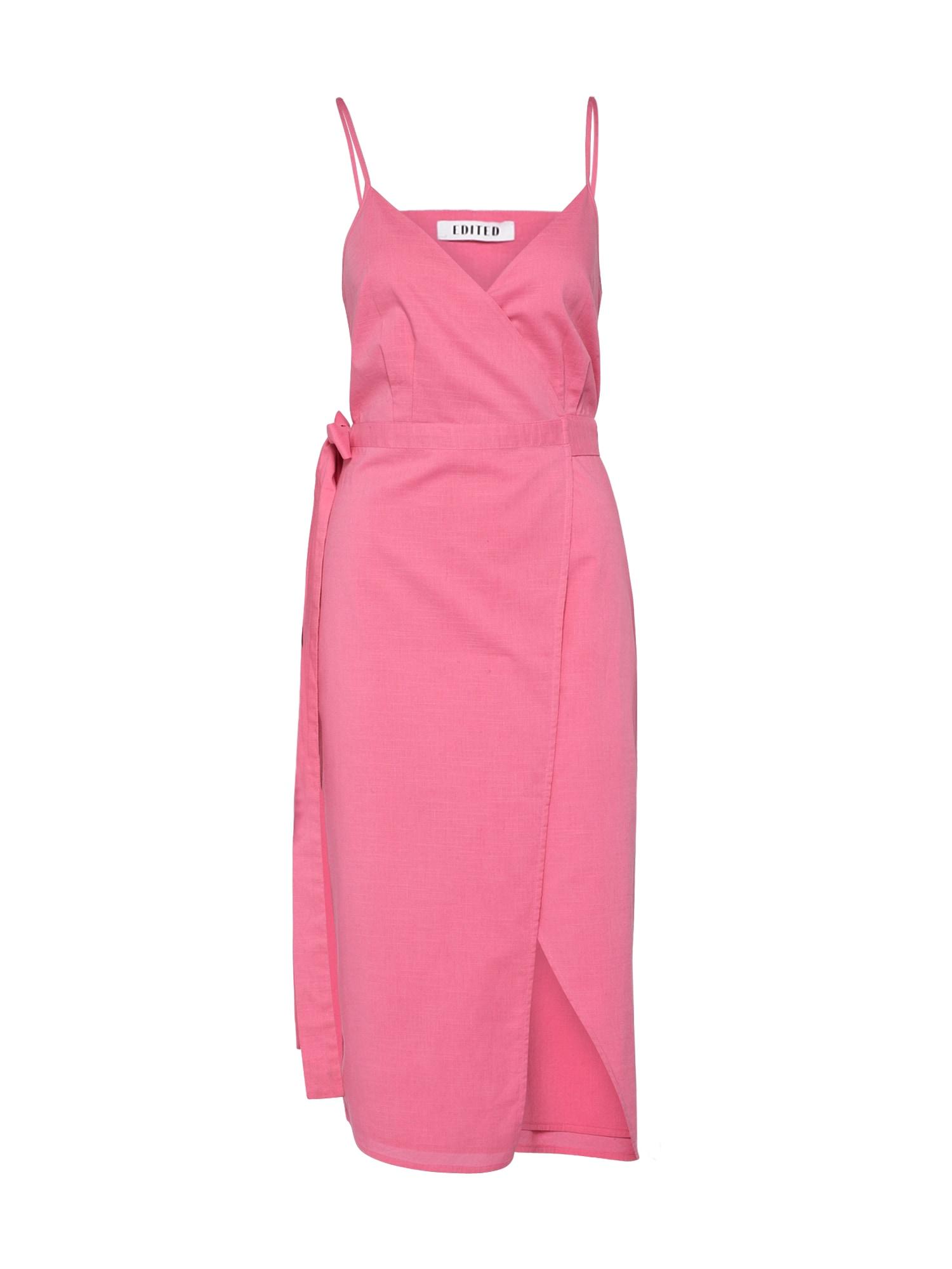 Letní šaty Nelina pink EDITED