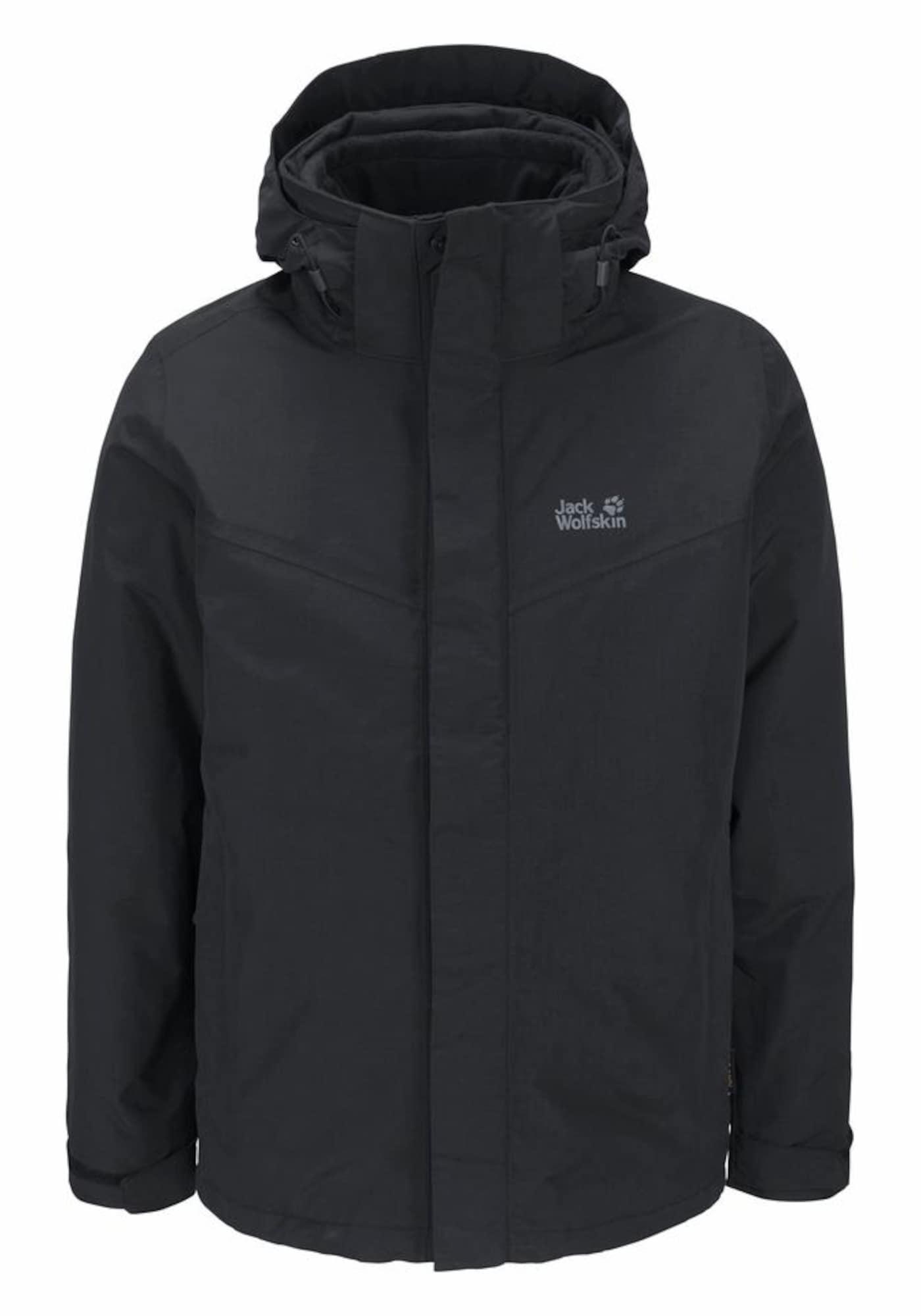 Outdoorová bunda GOTLAND černá JACK WOLFSKIN