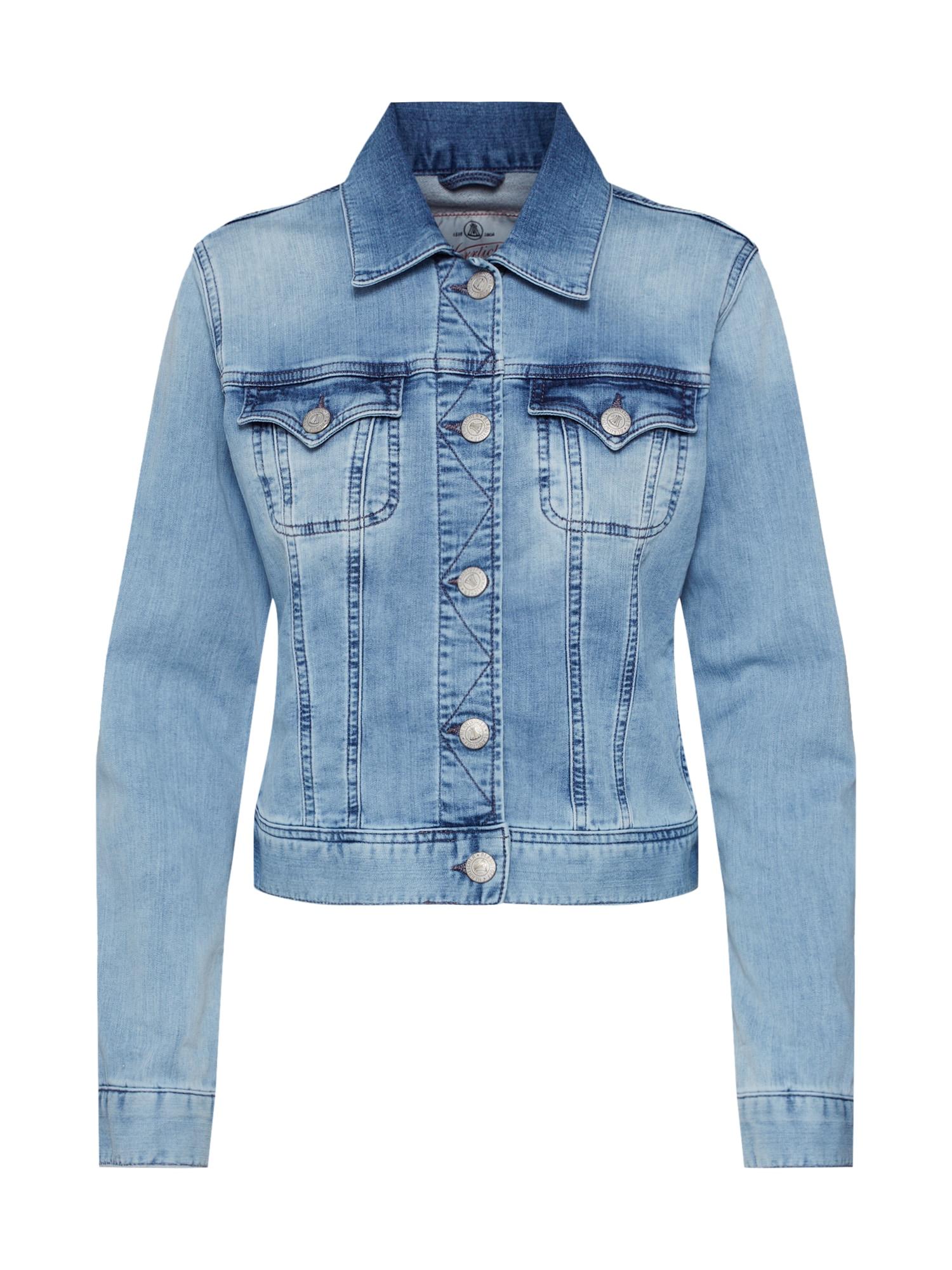 Přechodná bunda Joplin modrá džínovina Herrlicher
