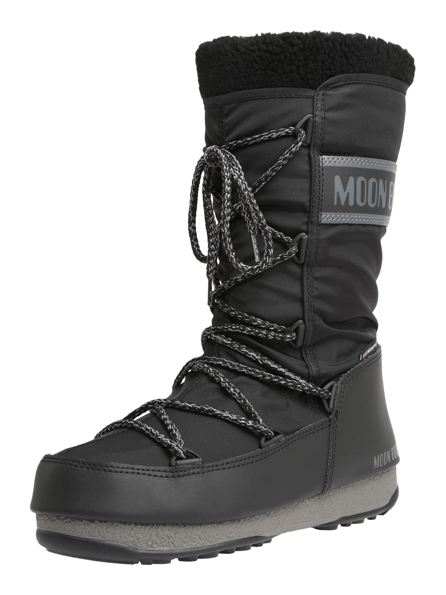 Snowboots 'MOON BOOT MONACO WOOL WP' | Schuhe > Boots > Snowboots | moon boot