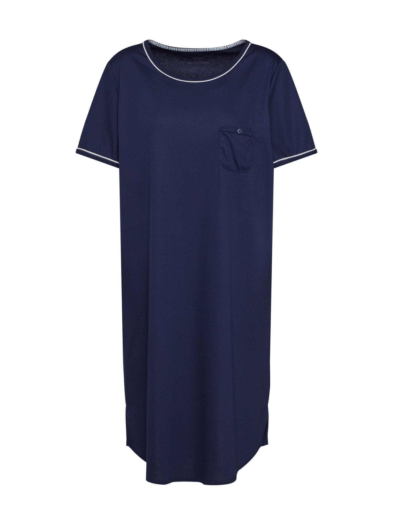 Noční košilka modrá CALIDA