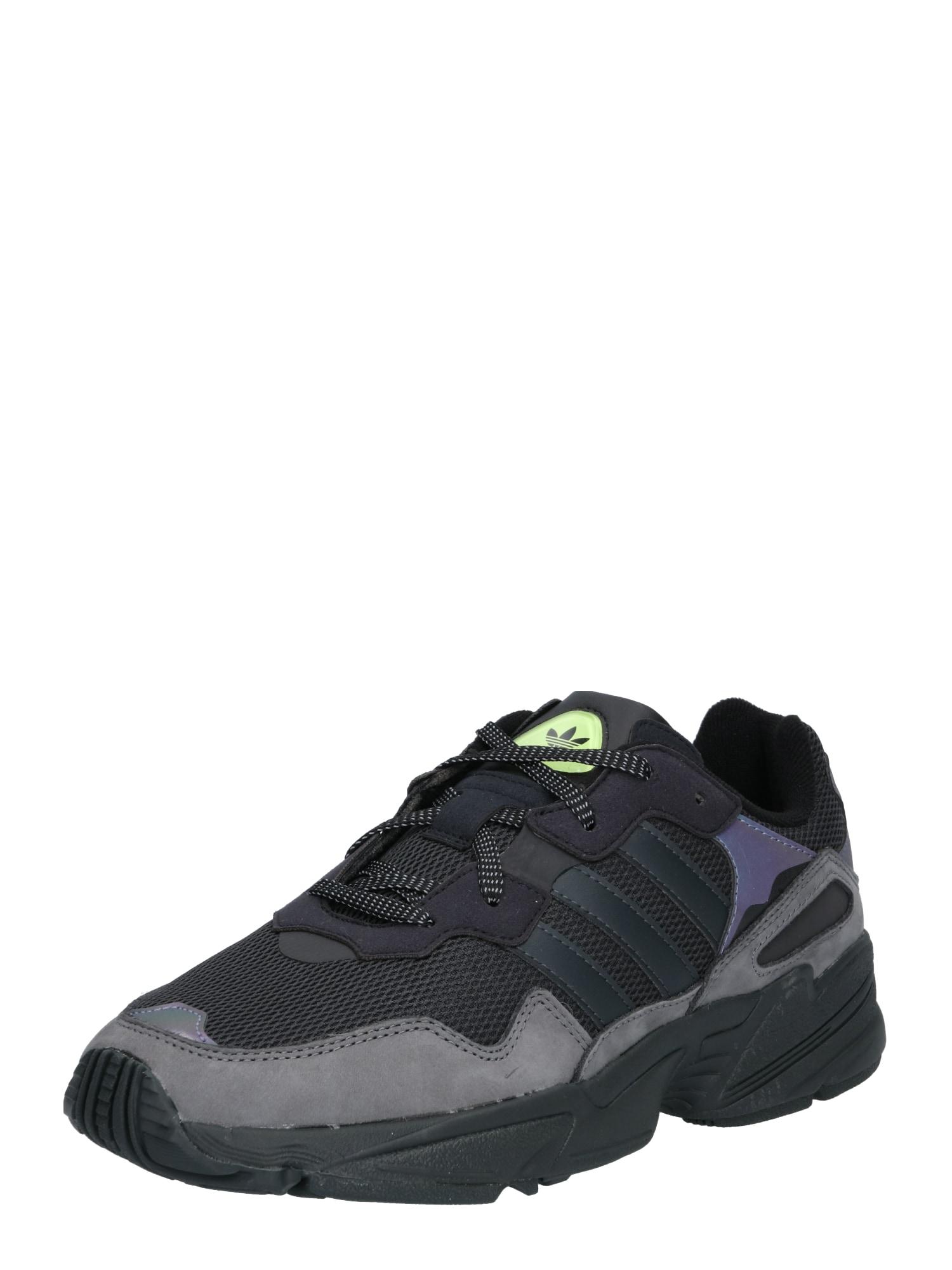 ADIDAS ORIGINALS, Heren Sneakers laag 'YUNG-96', zwart
